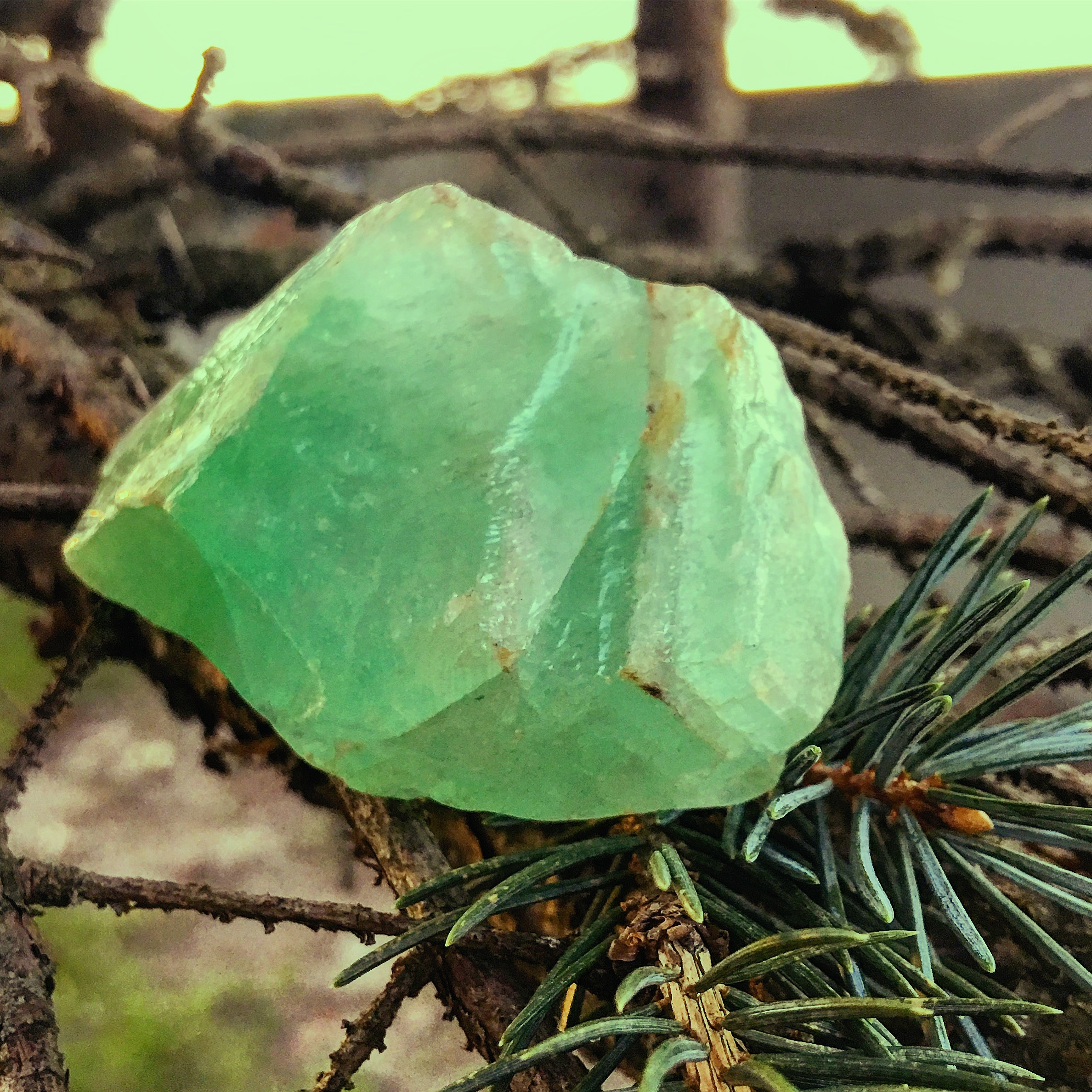 green calcite / krista-mitchell.com