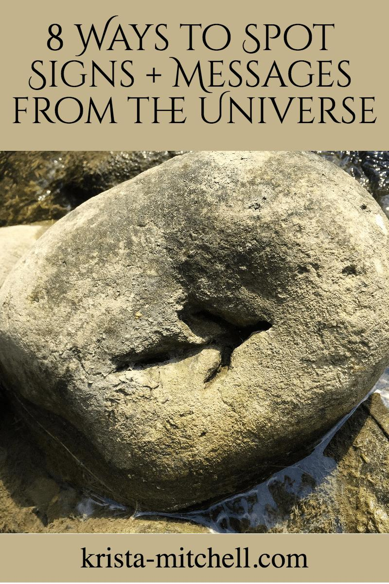 signs and messages from the universe / krista-mitchell.com