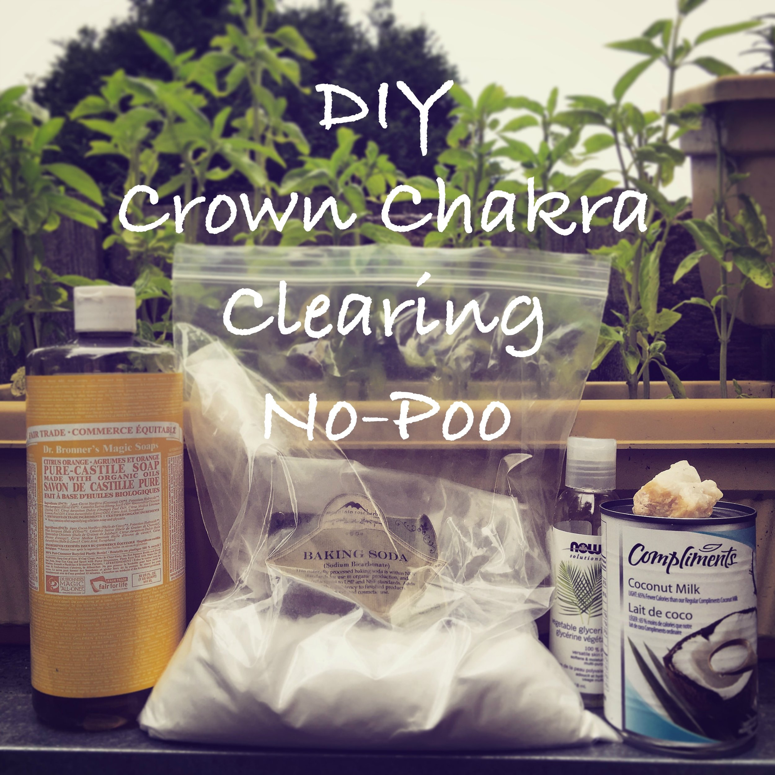 DIY crown chakra clearing no poo ingredients / krista-mitchell.com