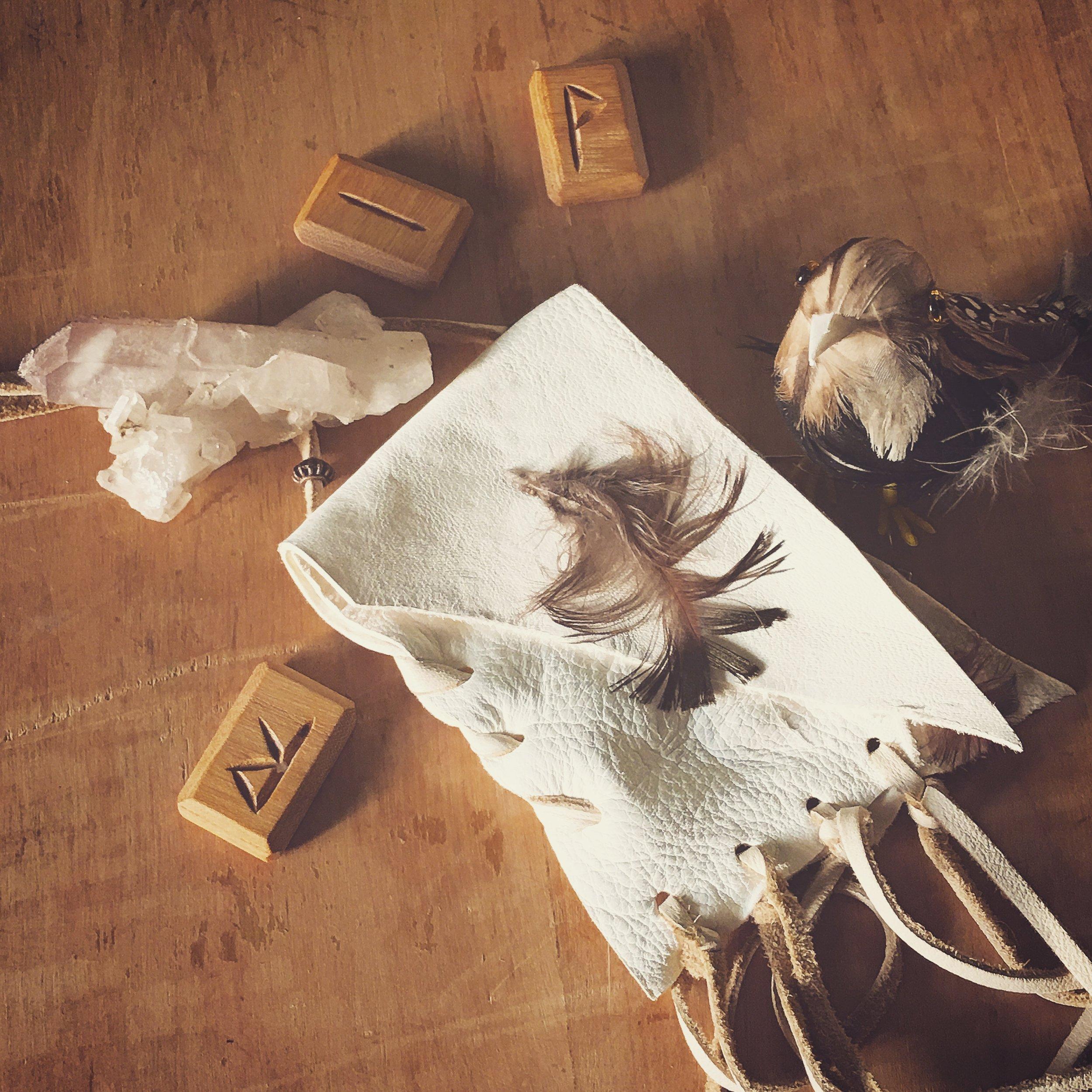 rune pouch / krista-mitchell.com