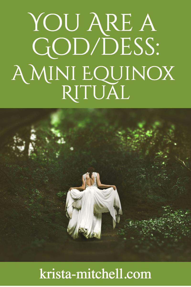 God/dess equinox ritual / krista-mitchell.com