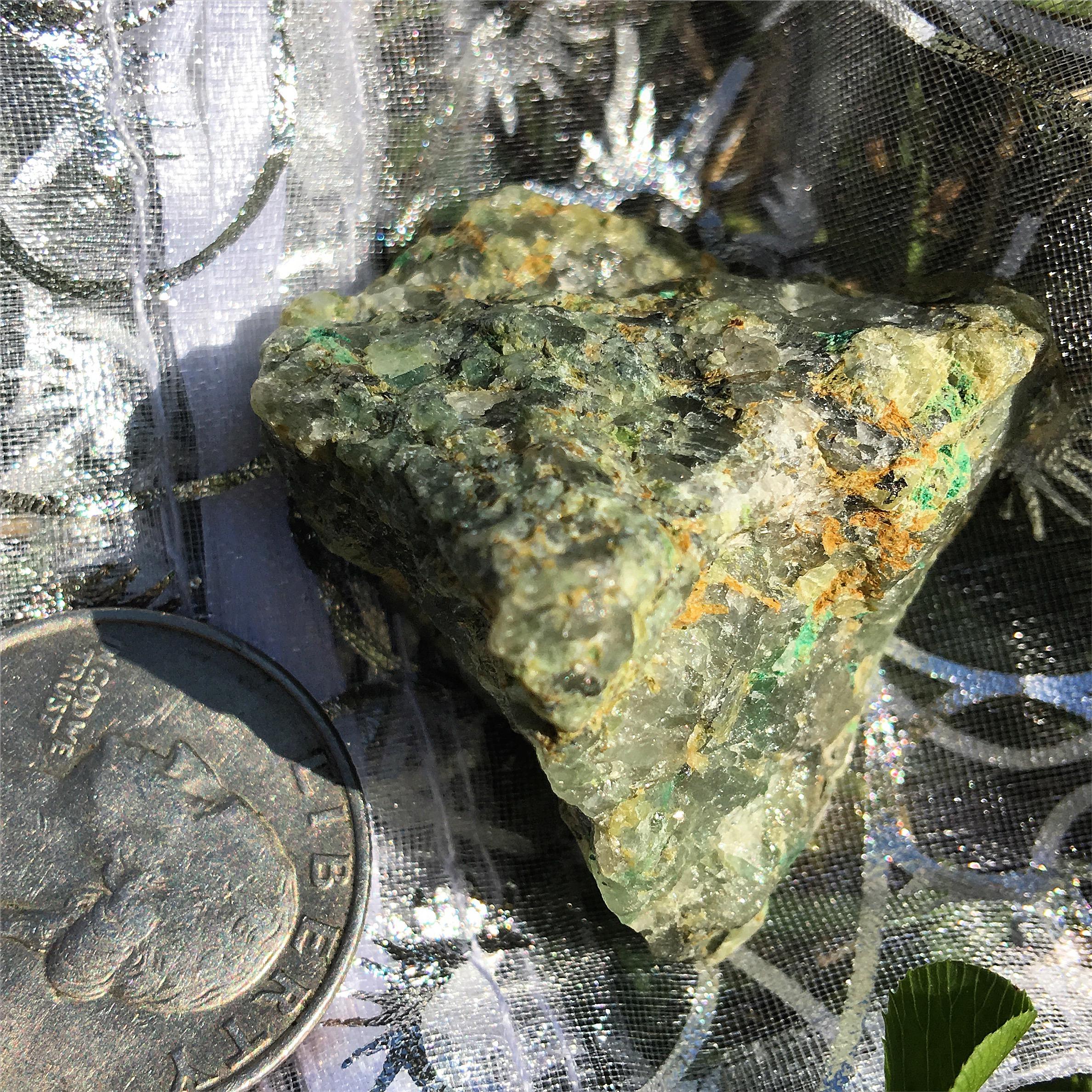chrysocolla rough / krista-mitchell.com