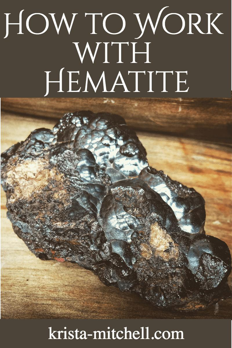 how to work with hematite / krista-mitchell.com