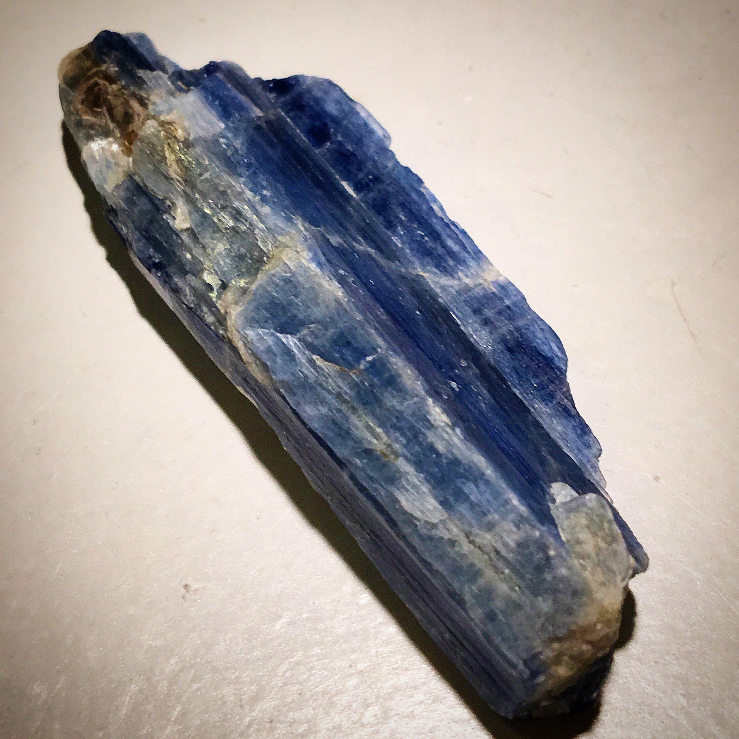 blue kyanite / krista-mitchell.com