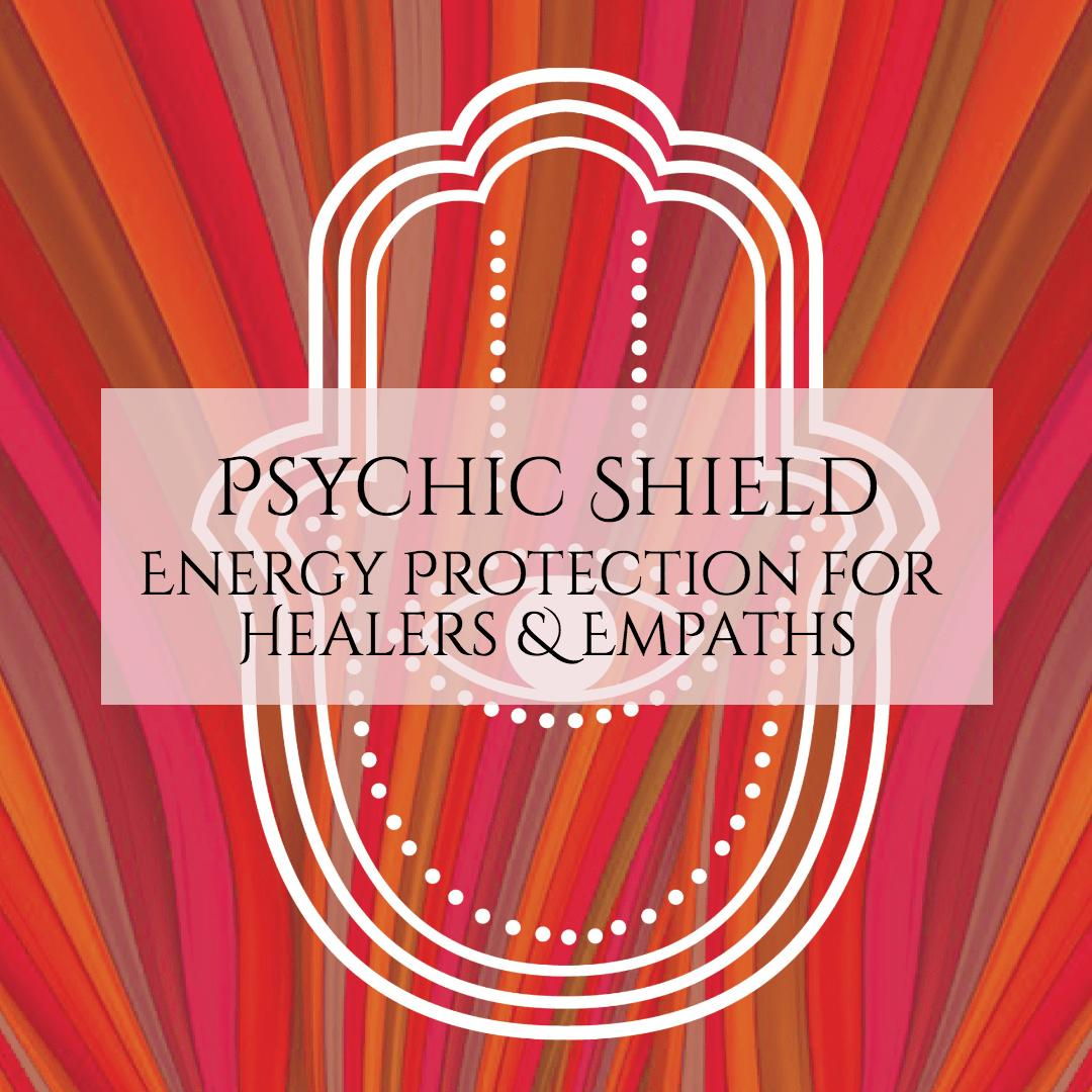 Self-paced course that teaches powerful energy techniques for shielding yourself and your space