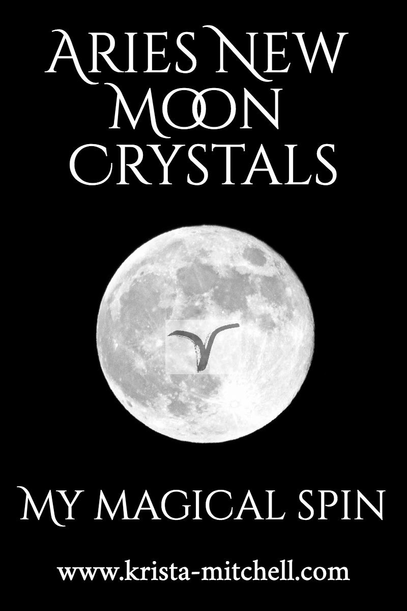 Aries Full Moon Crystals / krista-mitchell.com