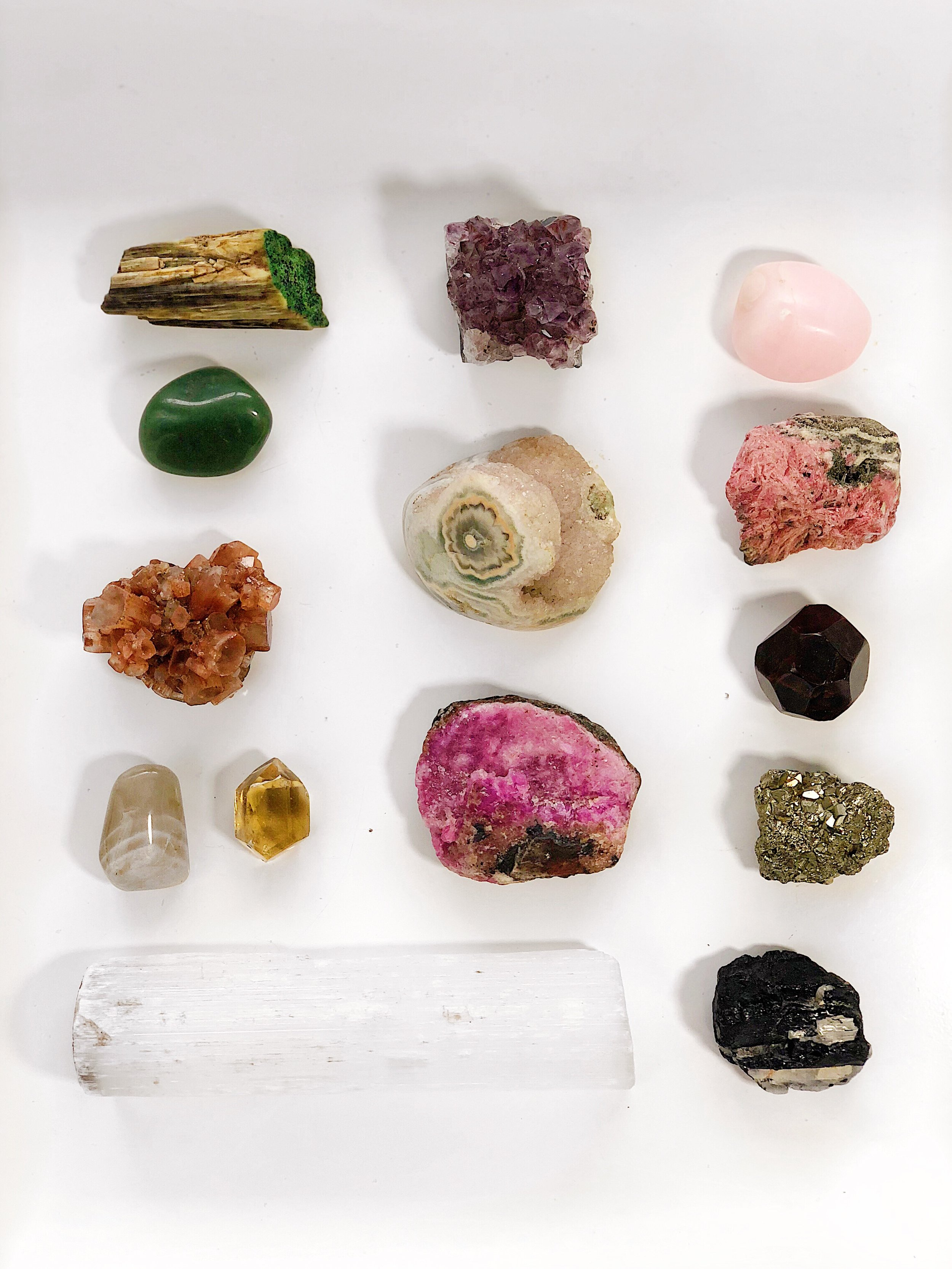 morning ritual crystals / krista-mitchell.com