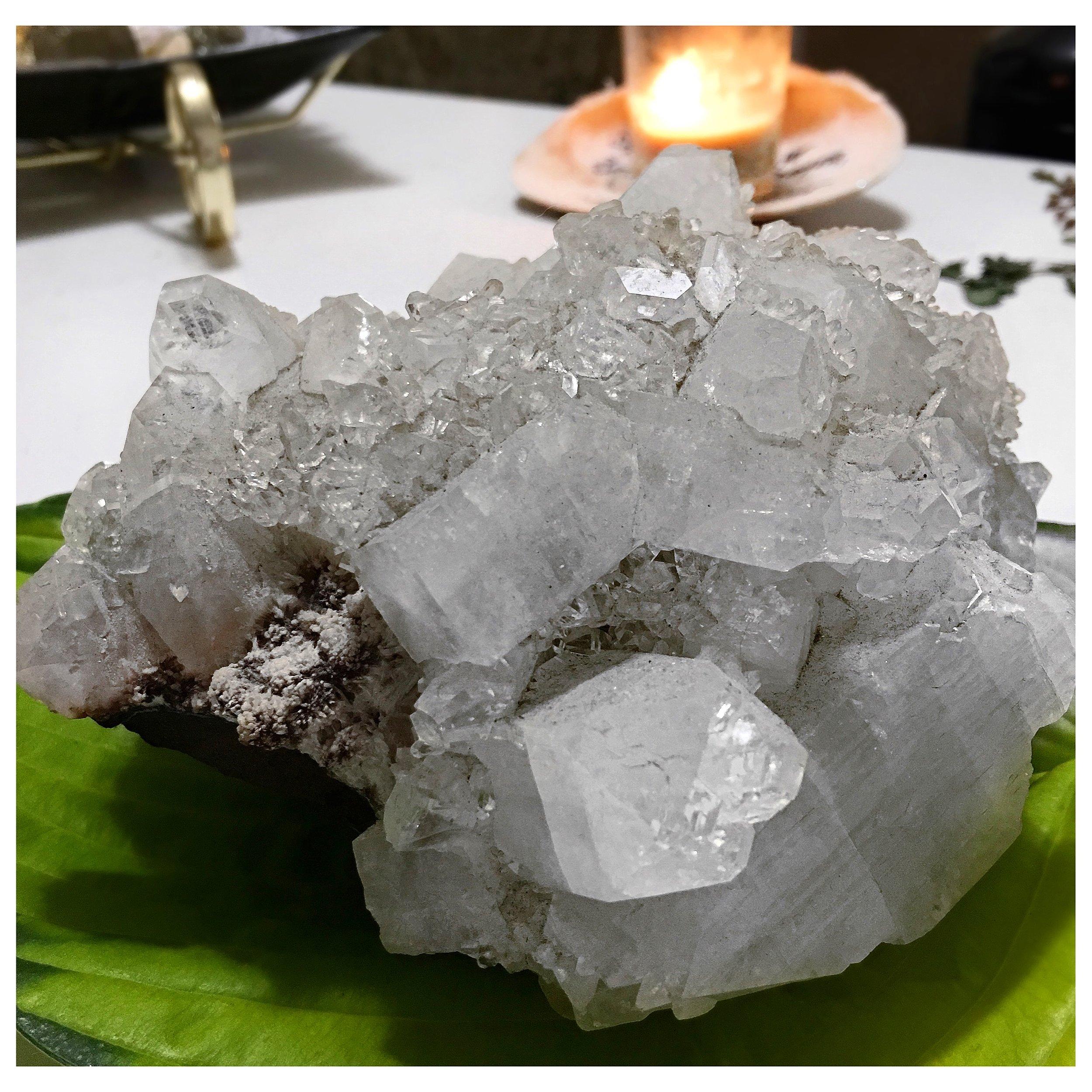 apophyllite cluster / krista-mitchell.com