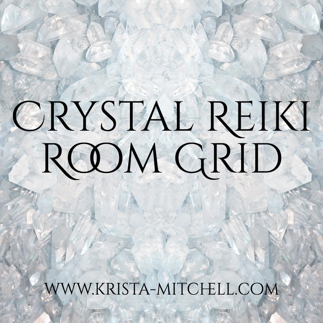 Crystal Reiki Grid / krista-mitchell.com