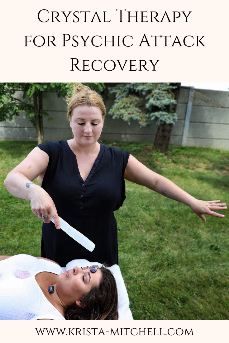Crystal Therapy for Psychic Attack Recovery / krista-mitchell.com/pro-crystal-healer-course-enroll/
