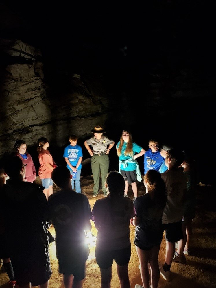 09.20.2019 Mammoth Cave National Park Receives Every Kid Outdoors Grant from the National Park Foundation.NPS Photo.JPG