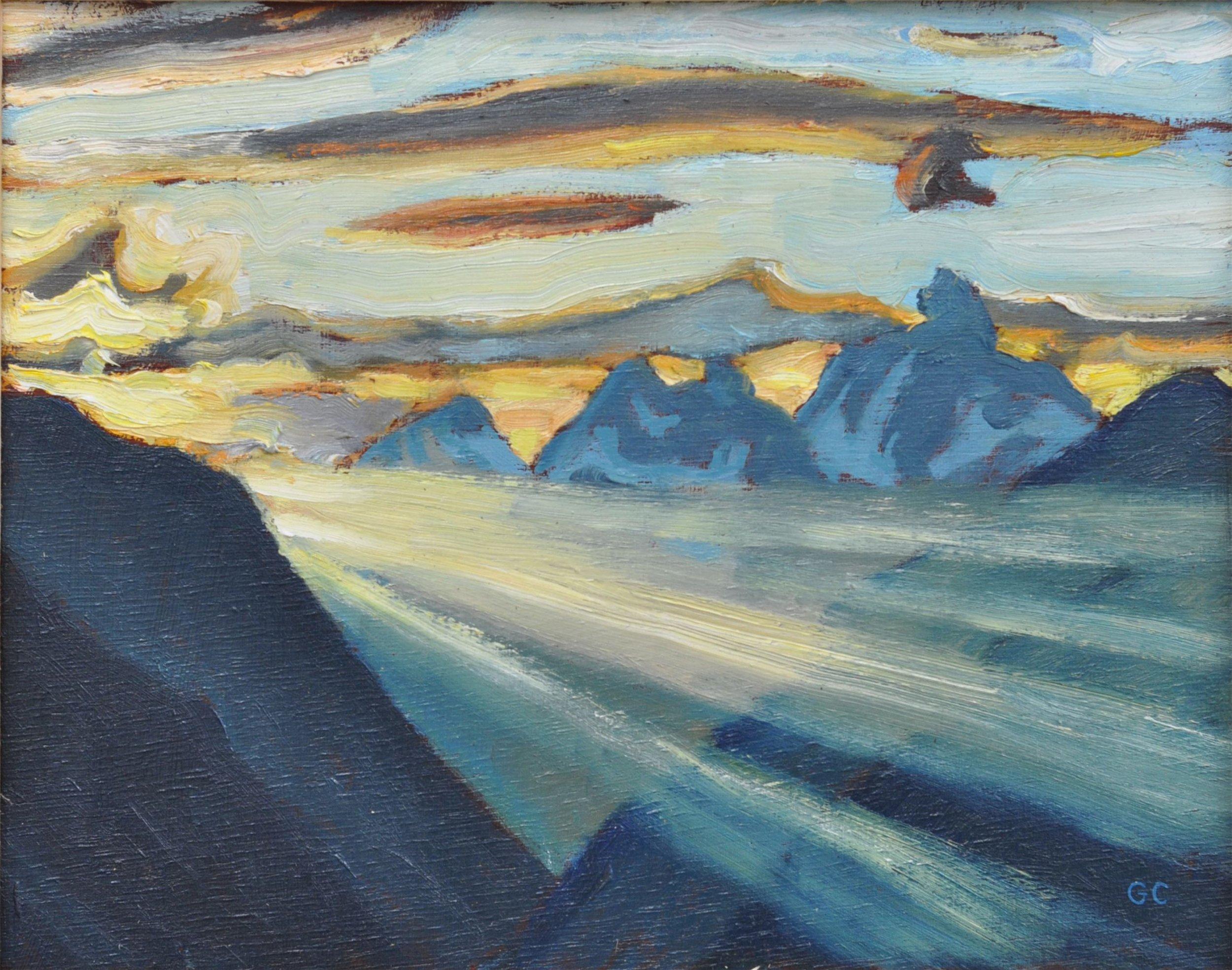 Sunrise, Glacier Mountain Park