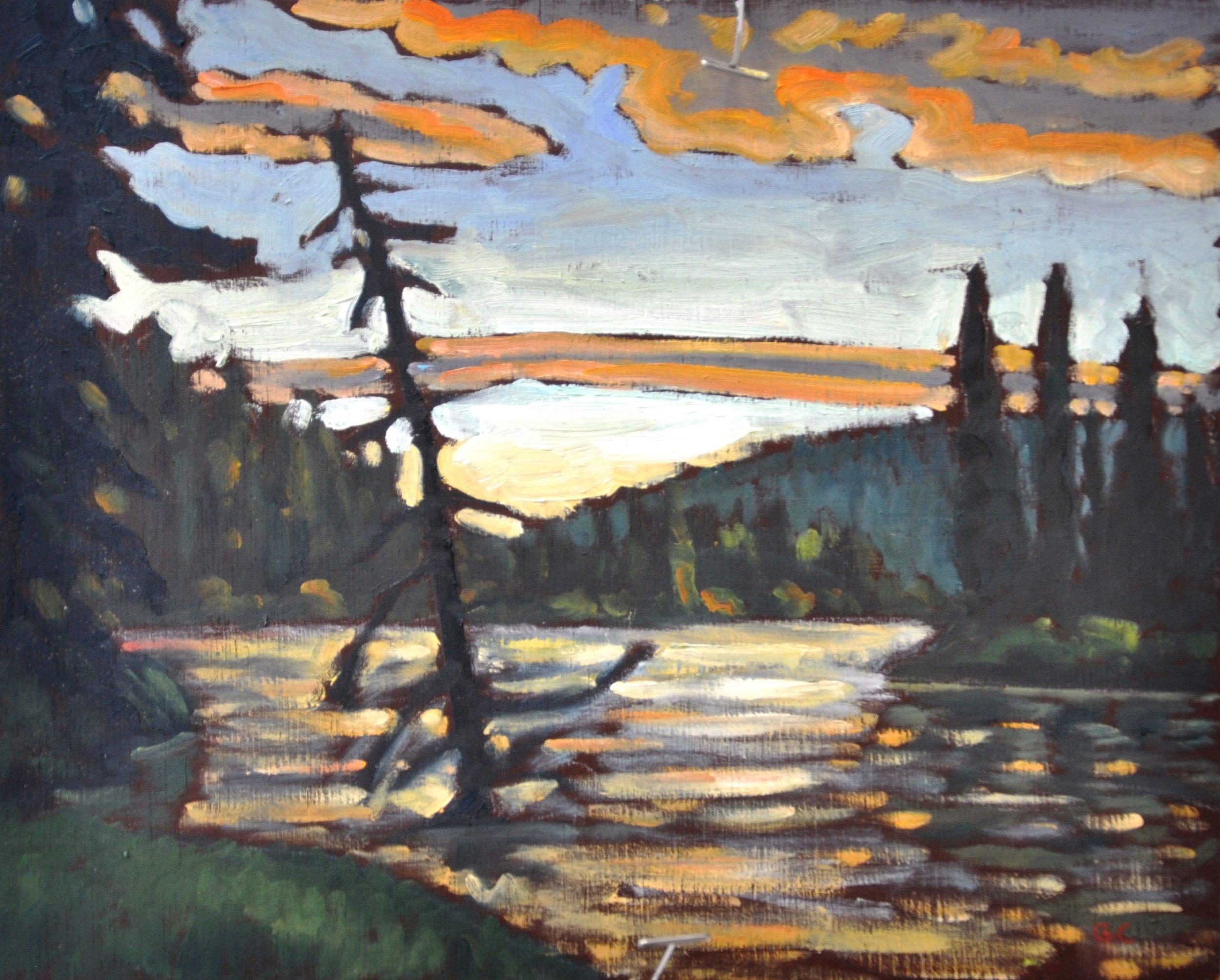 Morice River Sunset
