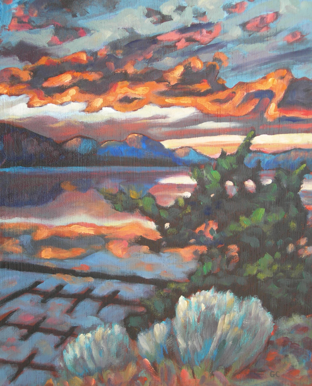 Penticton Marina Sunset