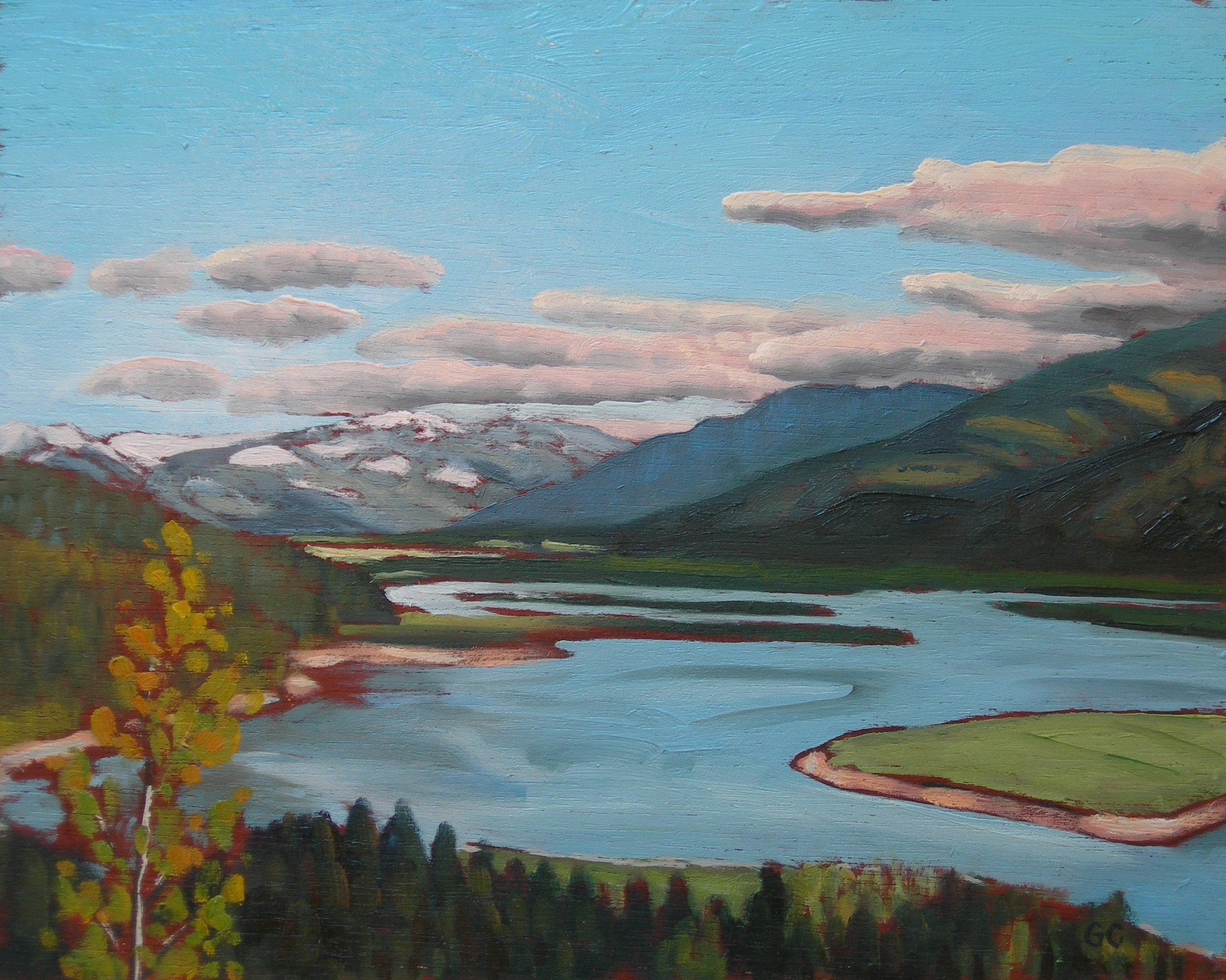 Upper Arrow Lake Near Revelstoke