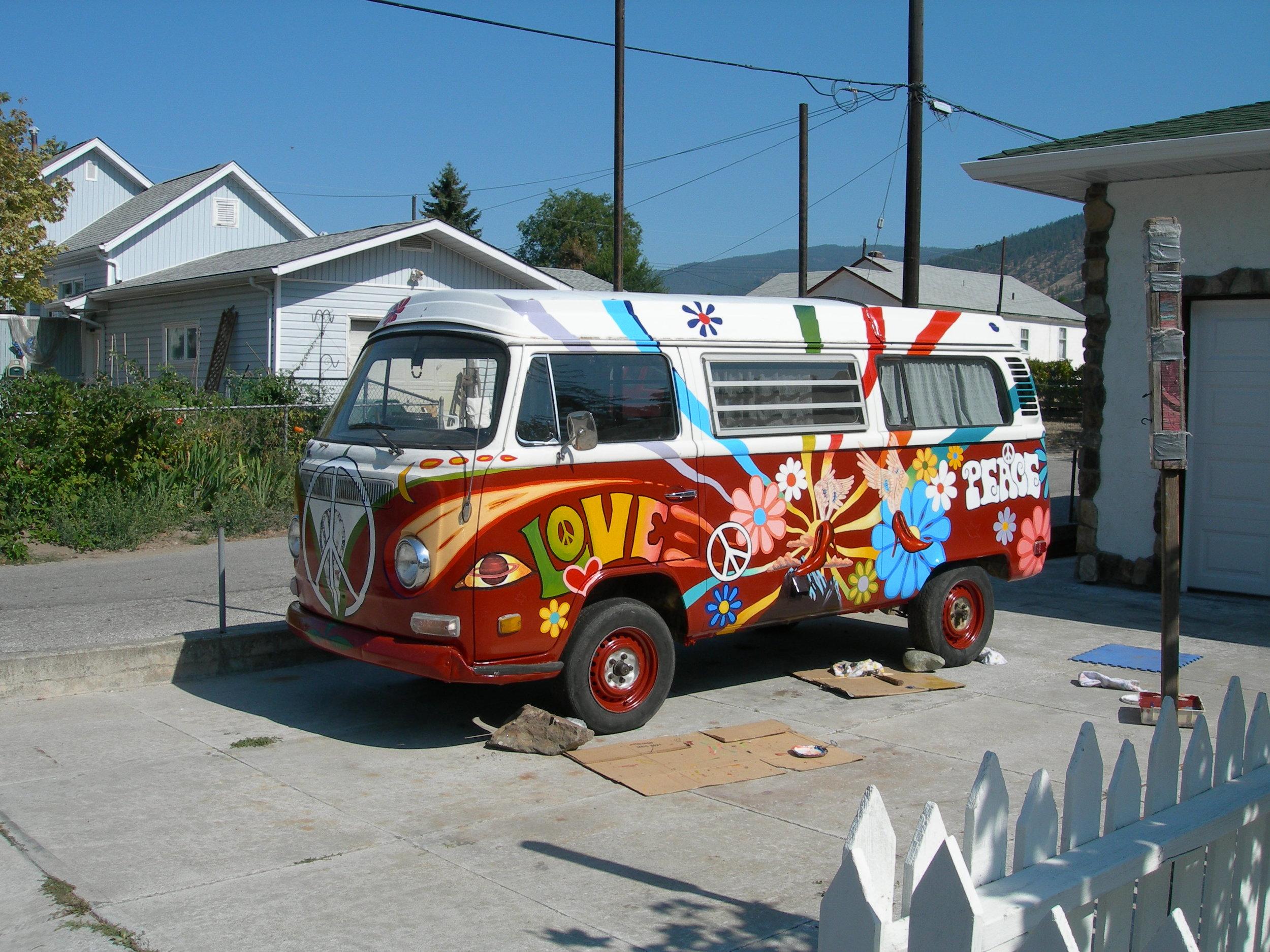 Ruby Blues Hippy Bus