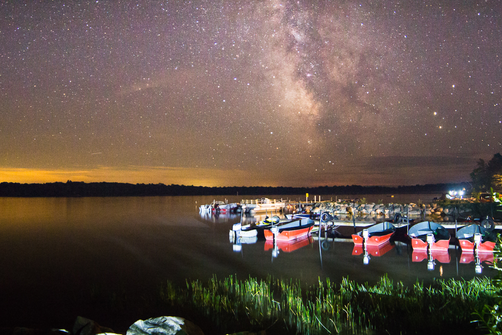 The Sea of Stars - Miller Lake