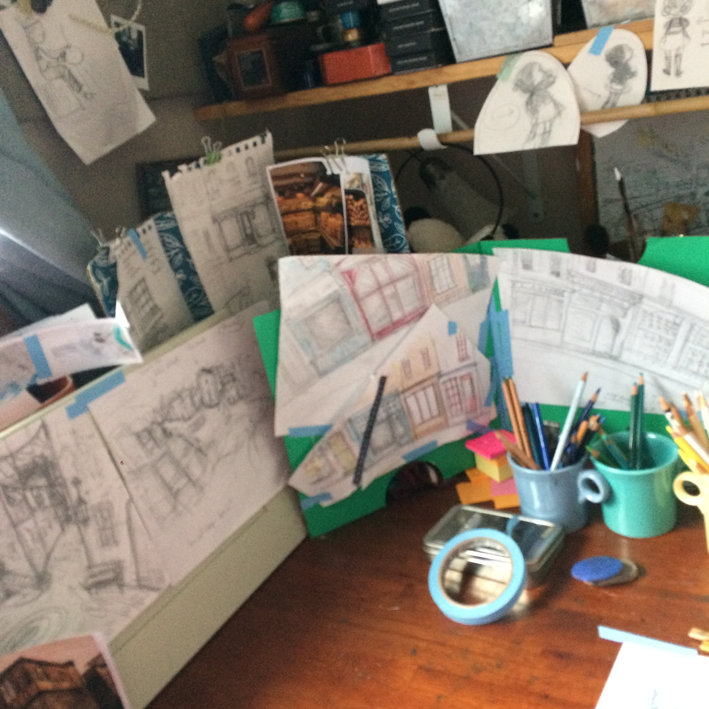 """picture booking - How an idea becomes a picture bookfor writers & artists of all ages(A.K.A. """"how to make friends with revision"""")"""