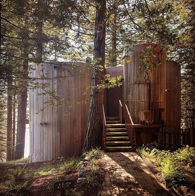 House by architect Mickey Muennig in Big Sur, California, captured by @elizabethdaniels01 #whosaysyouneedwindows