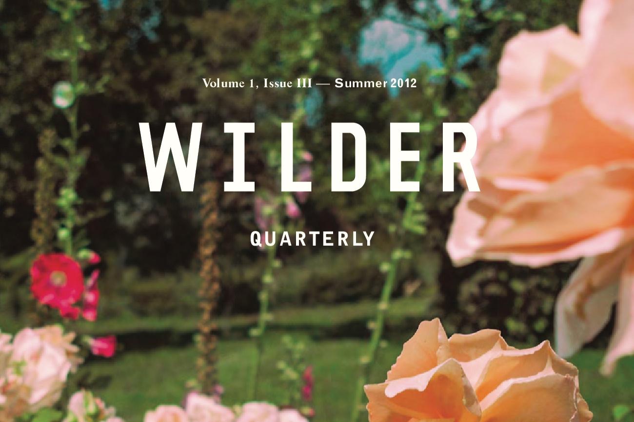 Wilder Quarterly -