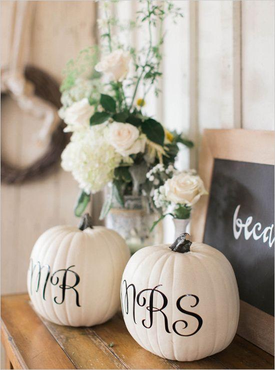 Mr. & Mrs. Pumpkins