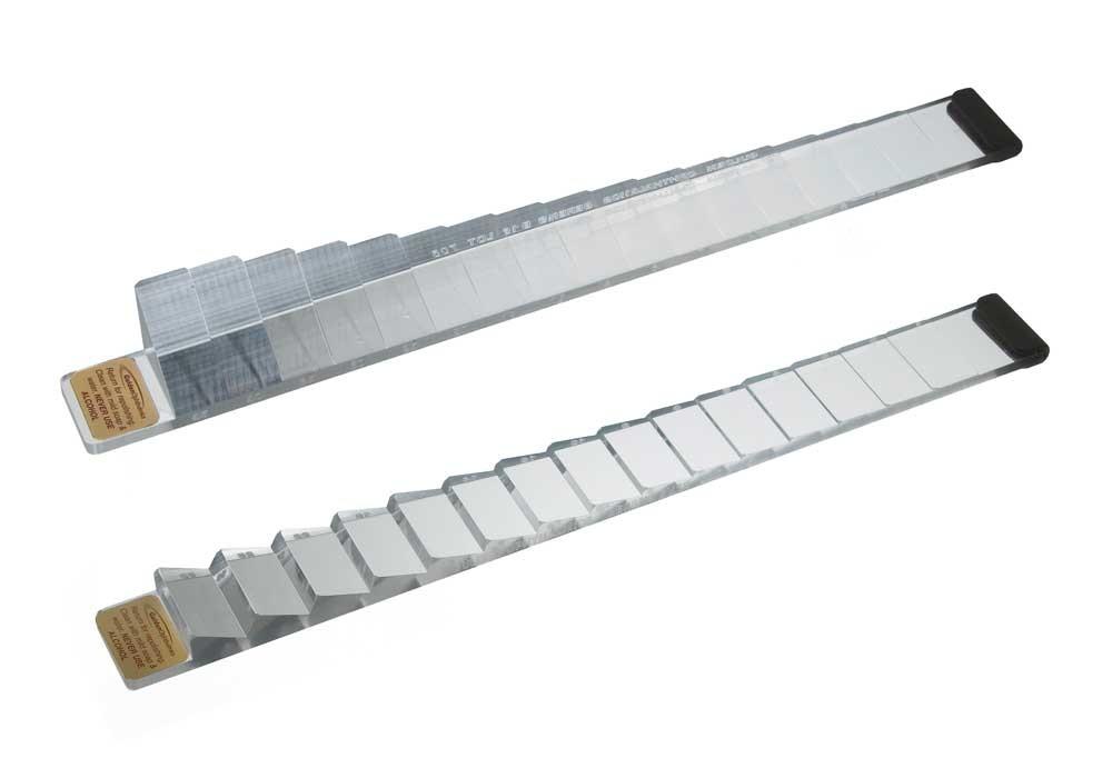 Plastic prism bars.  Image credit: Gulden Ophthalmics