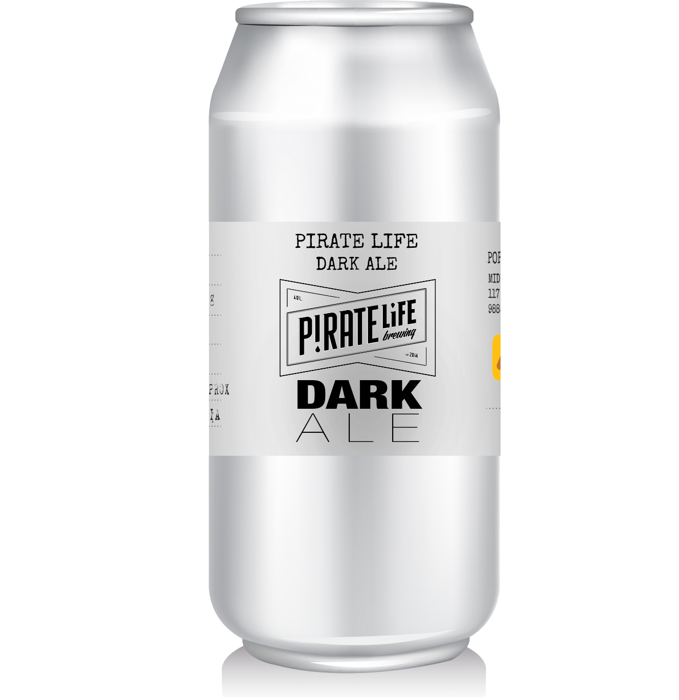 Pirate Life - Dark Ale   A beautiful dark ale with a rich malty chocolate flavour, mild bitterness and a hint of smokiness.  Easy drinking at 4.8%