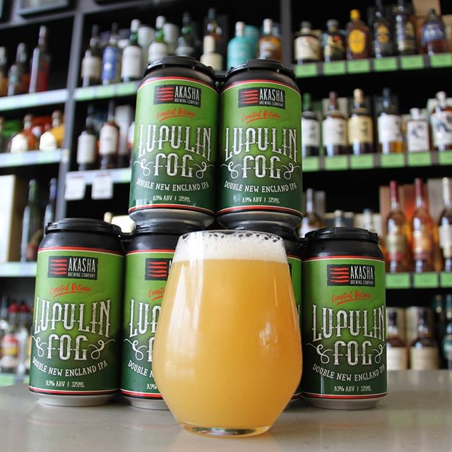 And it's back! @akashabrew Lupinlin Fog, their 2017 GABS beer for when your hazies need to be hazier. Ultra limited stock, get in fast #hazyipa #lupulin #craftbeer #aussiecraftbeer #beersofinstagram #hoppy #niepa