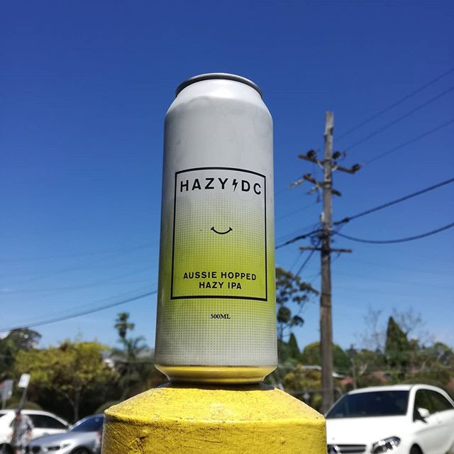 At home in the Sydney suburbs #hazydc from @balterbrewers has landed! Limited stock get in soon. #aussiehops #beersofinstagram #indiebeer #aussiecraftbeer #hazy