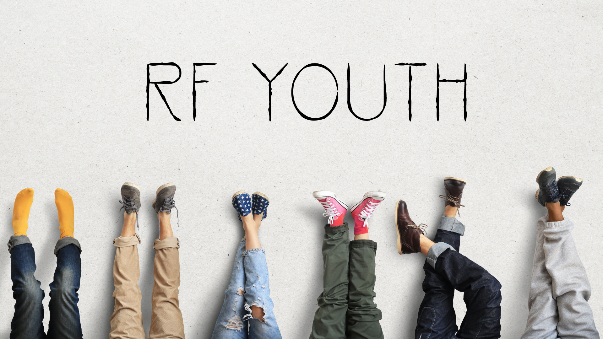 Who are we? - RF youth is a small group based youth group. We gather together in church members homes as we worship, pray and read the word together.