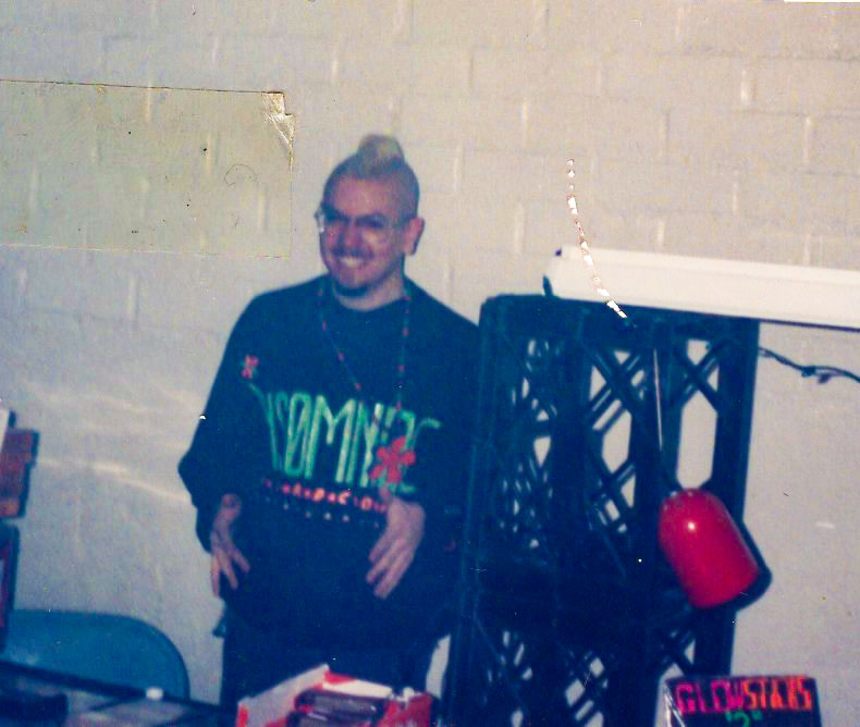 Having a pretty good time in an unknown warehouse, 1994