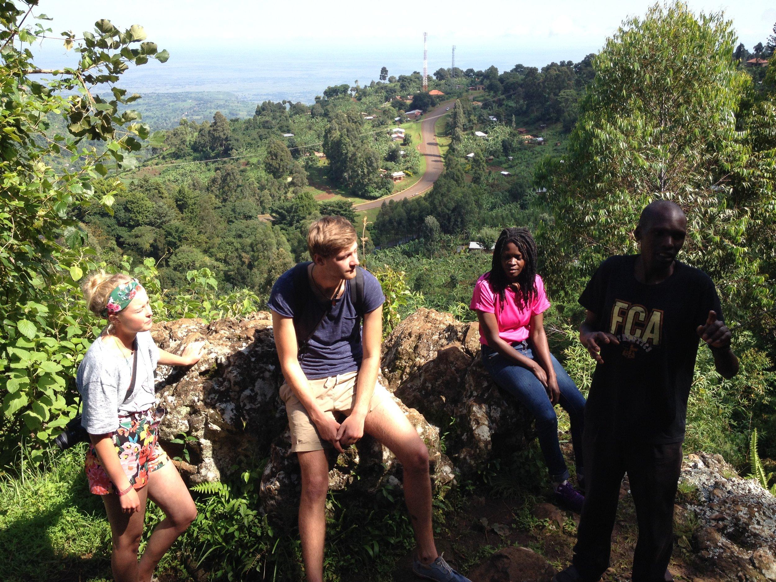 Sipi Falls medicinal tour
