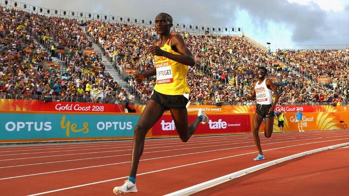 Cheptegei Gold in Gold Coast Commonwealth Games.jpg