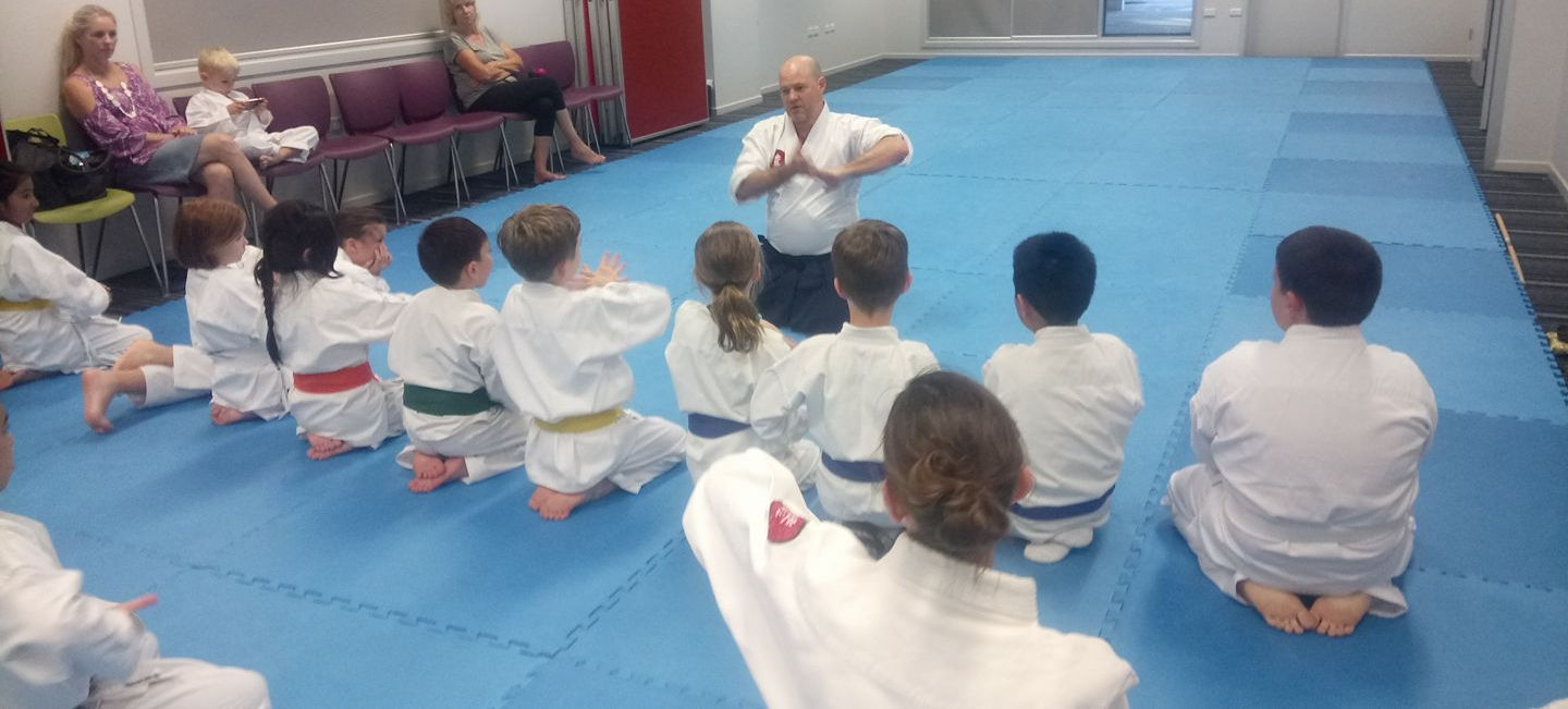 Kids Martial Art Class - Aikido - at Avalon Dojo on Sydney Northern Beaches