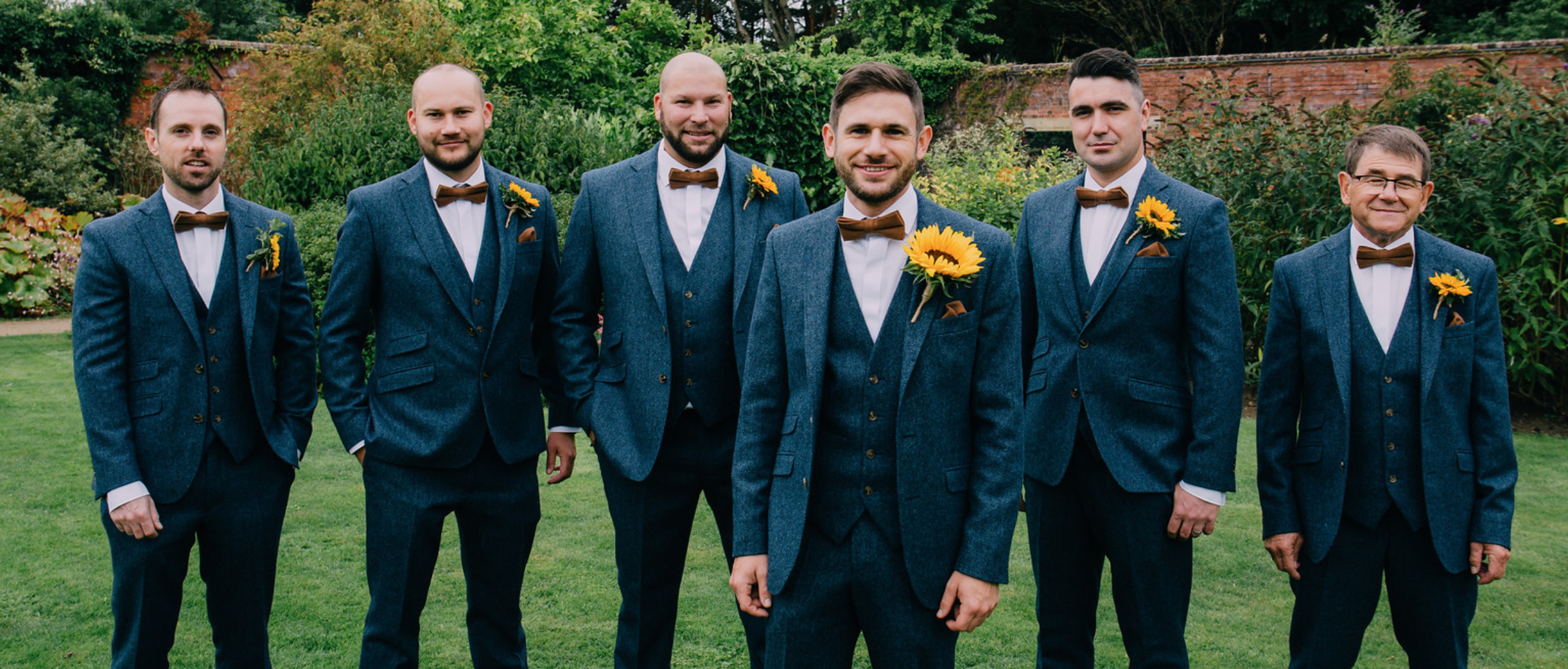 Blue Tweed Suits To Hire Derby