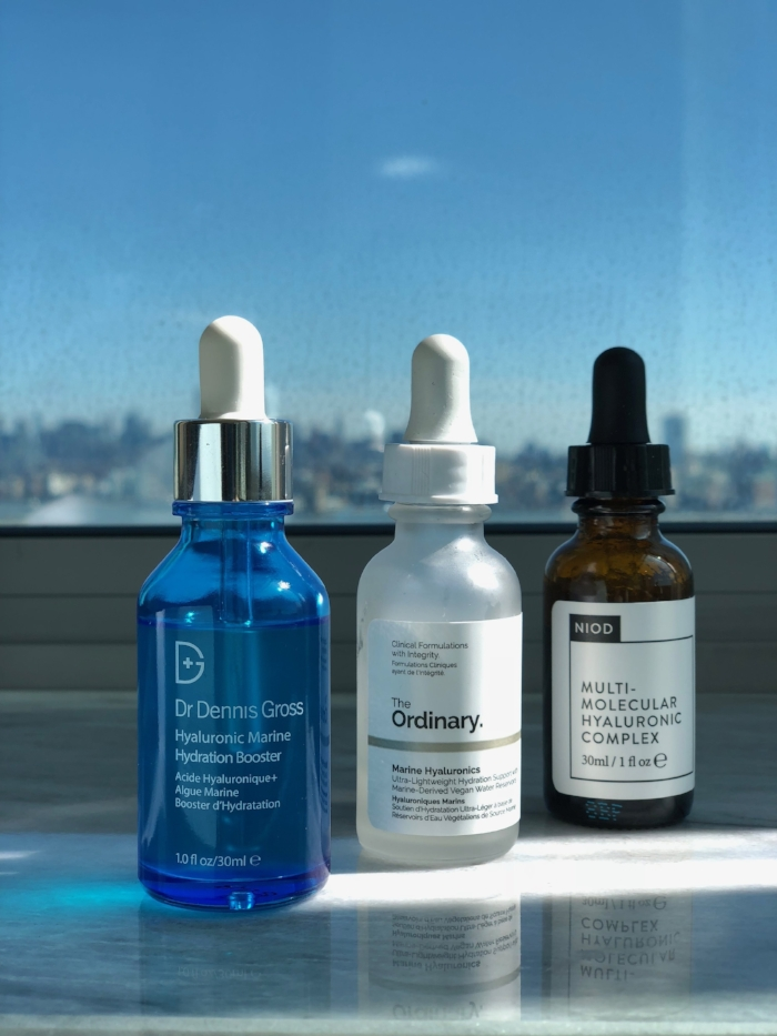 Three very well-formulated Hyaluronic Acids serums.