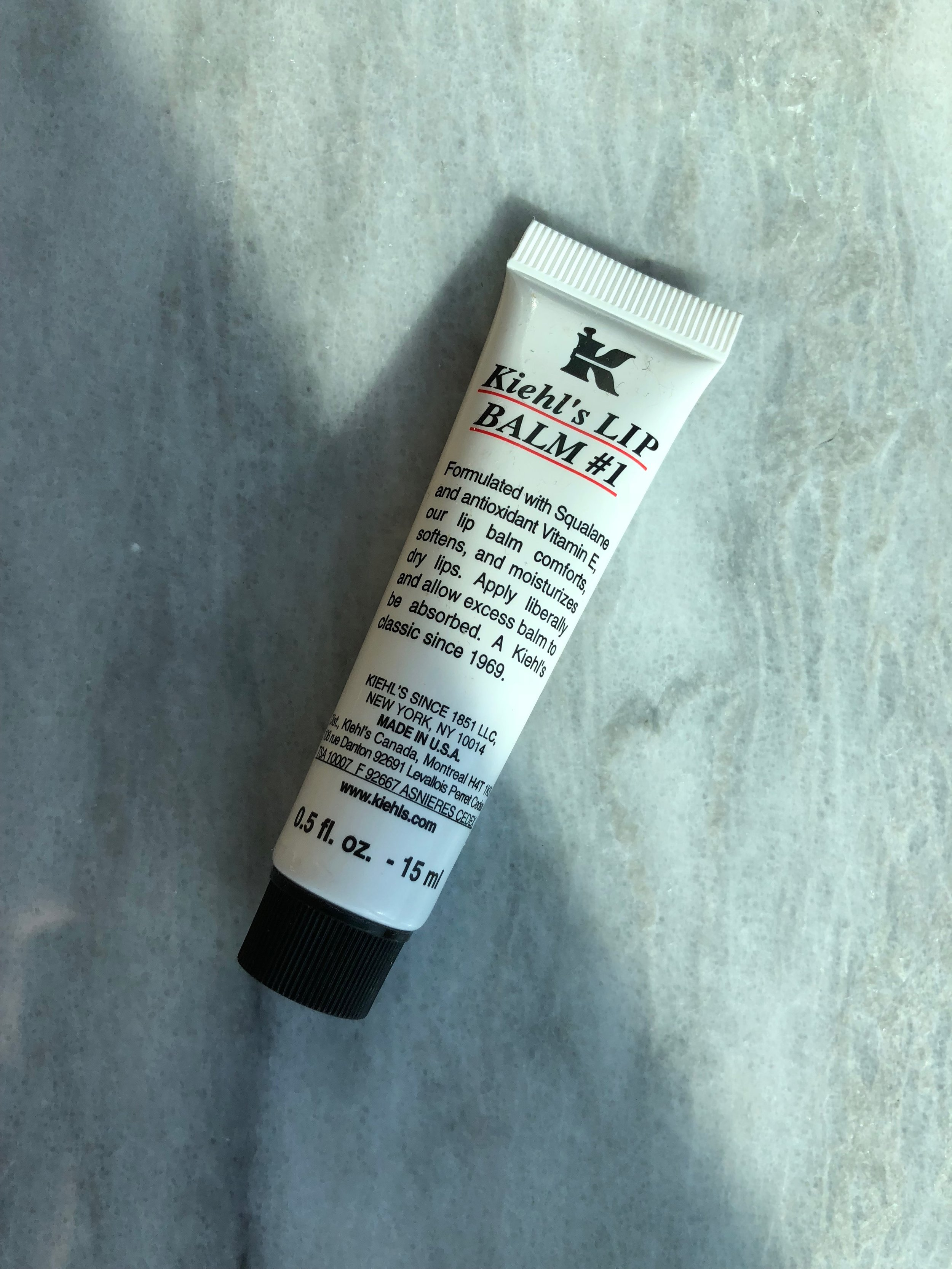 Kiehl's iconic Lip Balm #1 was first introduced to customers of the Original Flagship store in the early 60s.