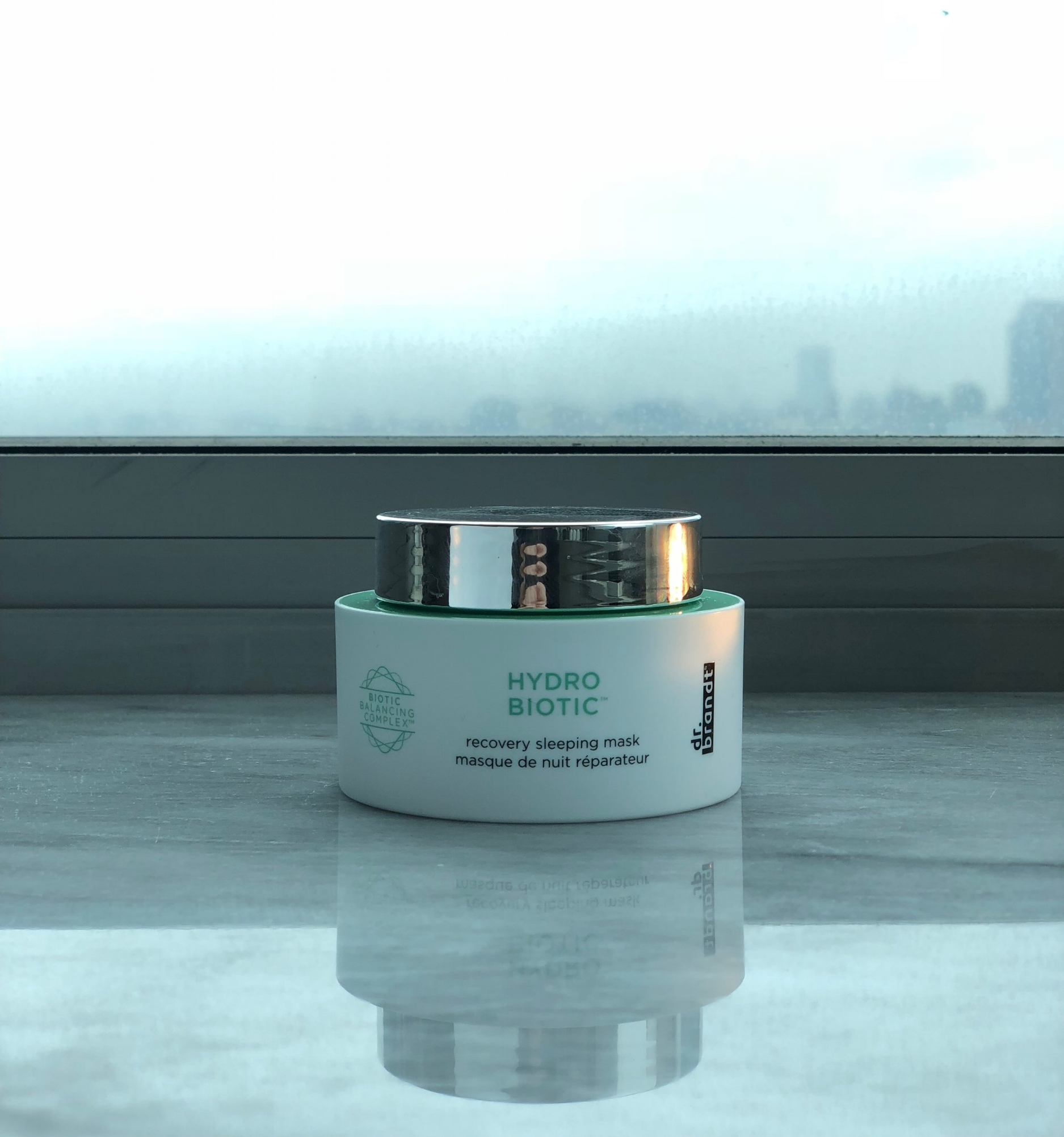 The new Dr. Brandt Hydro Biotic recovery sleeping mask is a great way to incorporate healthy probiotics into your skincare regimen.