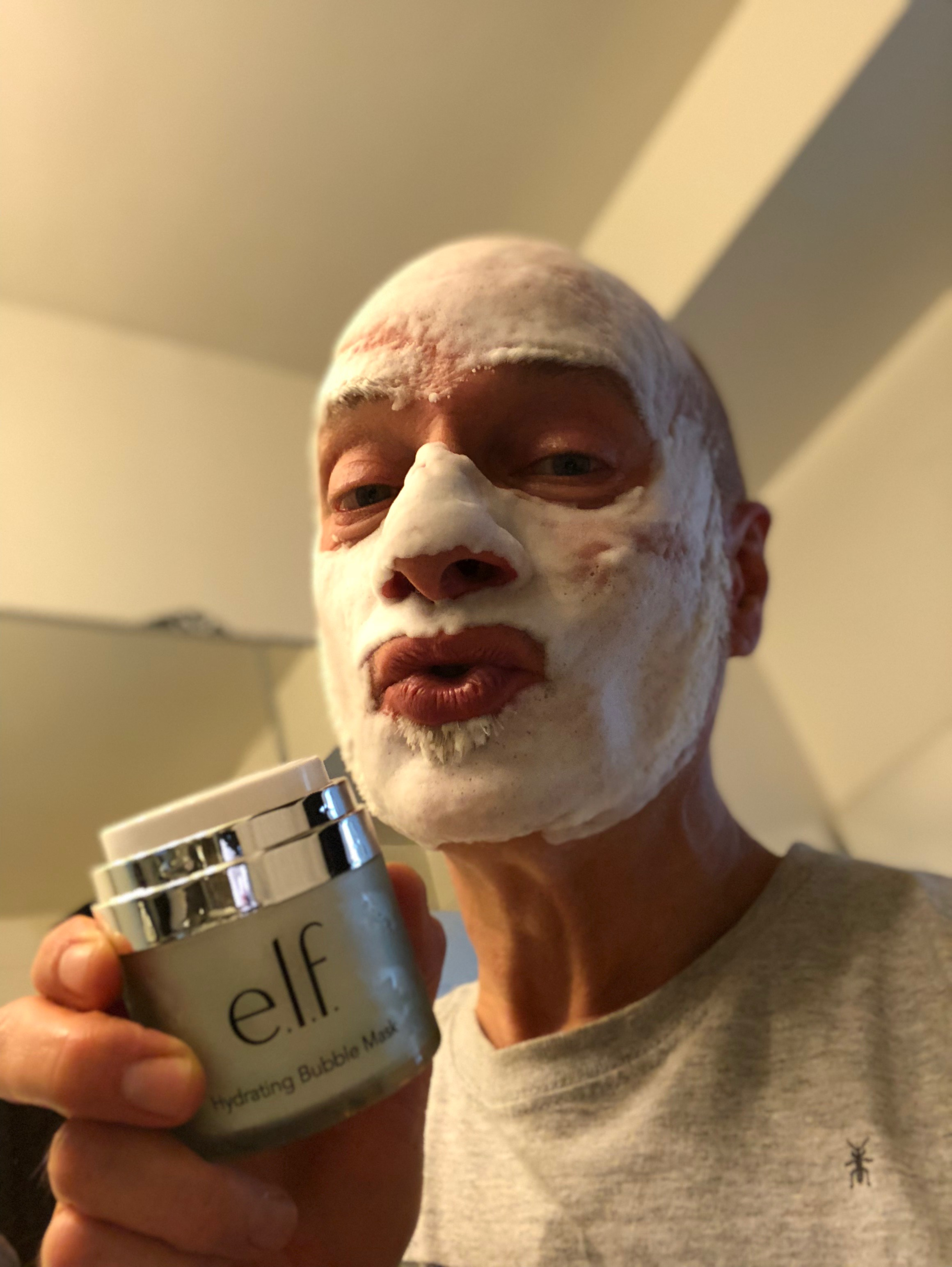 e.l.f.'s Hydrating Bubble Mask feels great, leaves skin fresh and costs $14.