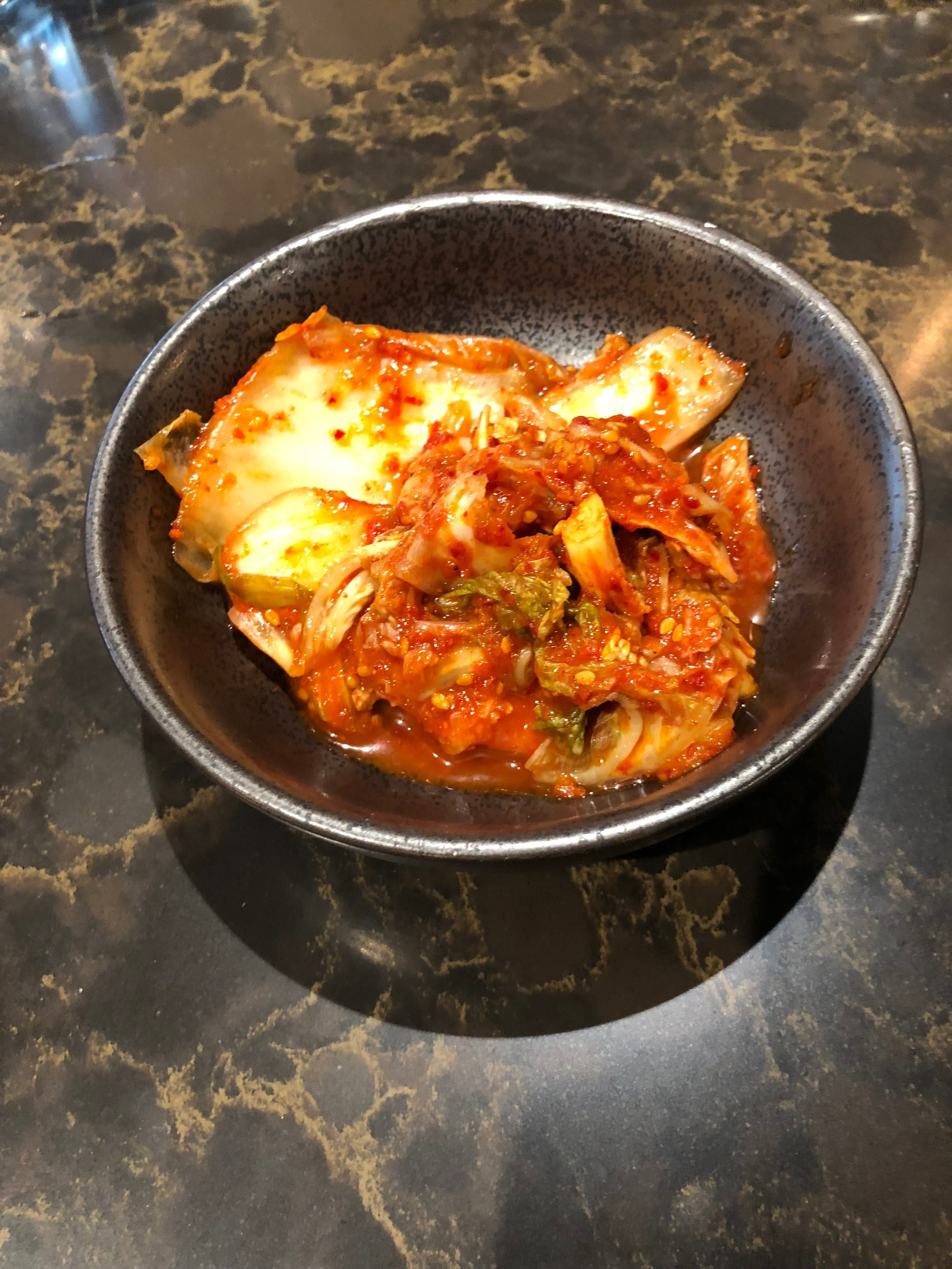 Fermentation turns cabbage into kimchi. Mmm