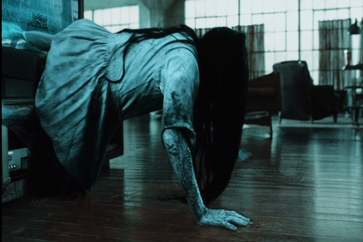 I look like that creepy chick from The Ring when I wake up in the morning in January.