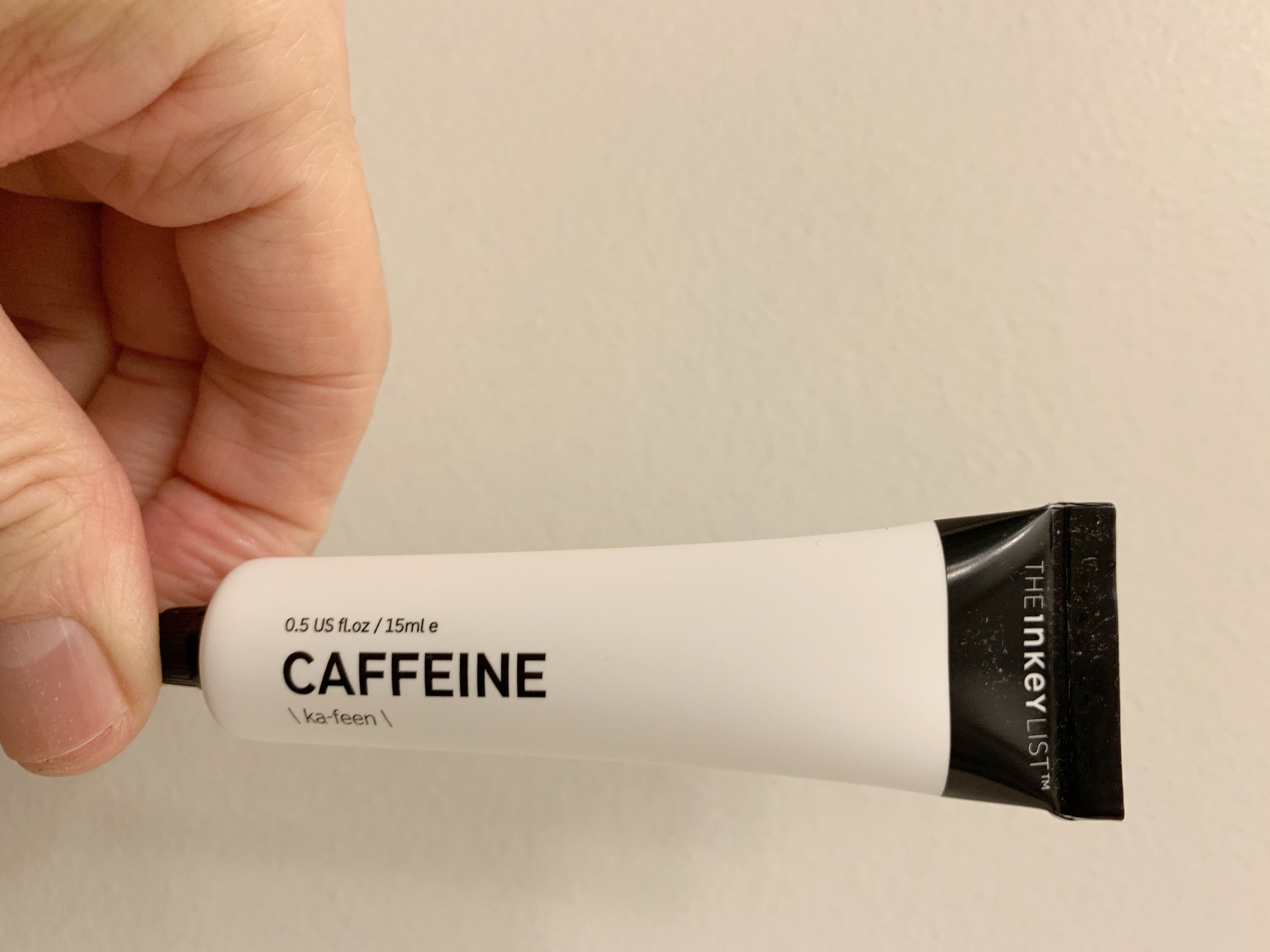 The Inkey List's Caffeine Eye Serum is a super lightweight, silky treatment for eyes.