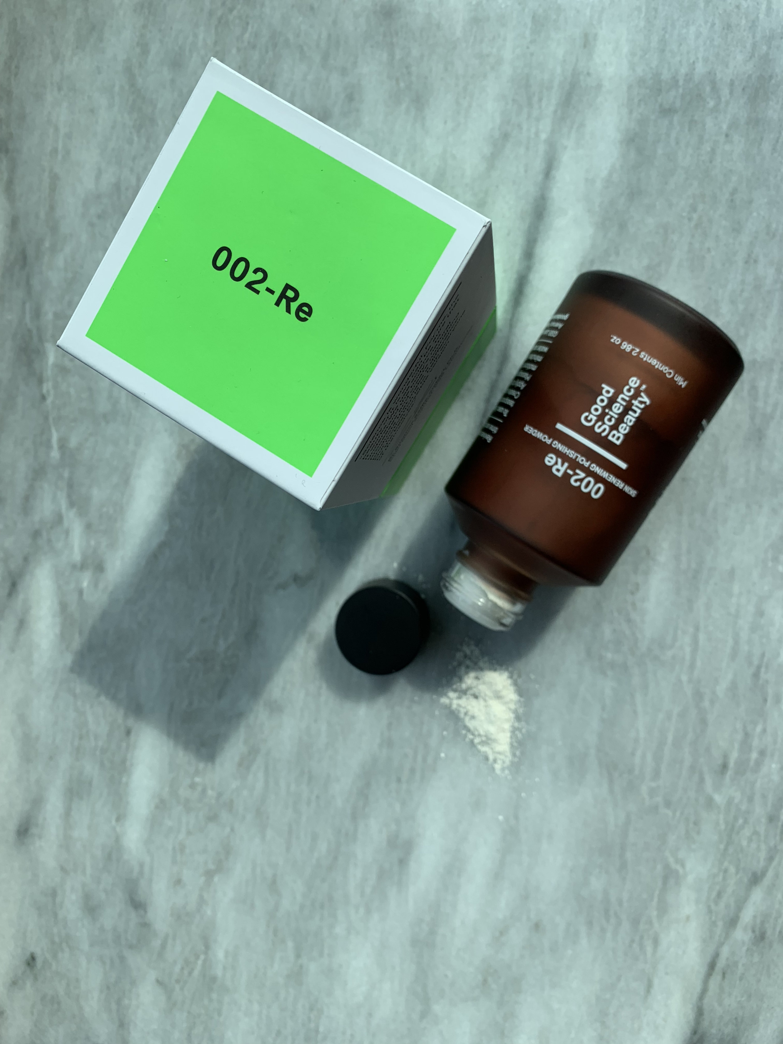 Good Science Beauty's Skin Renewing Polishing Powder.