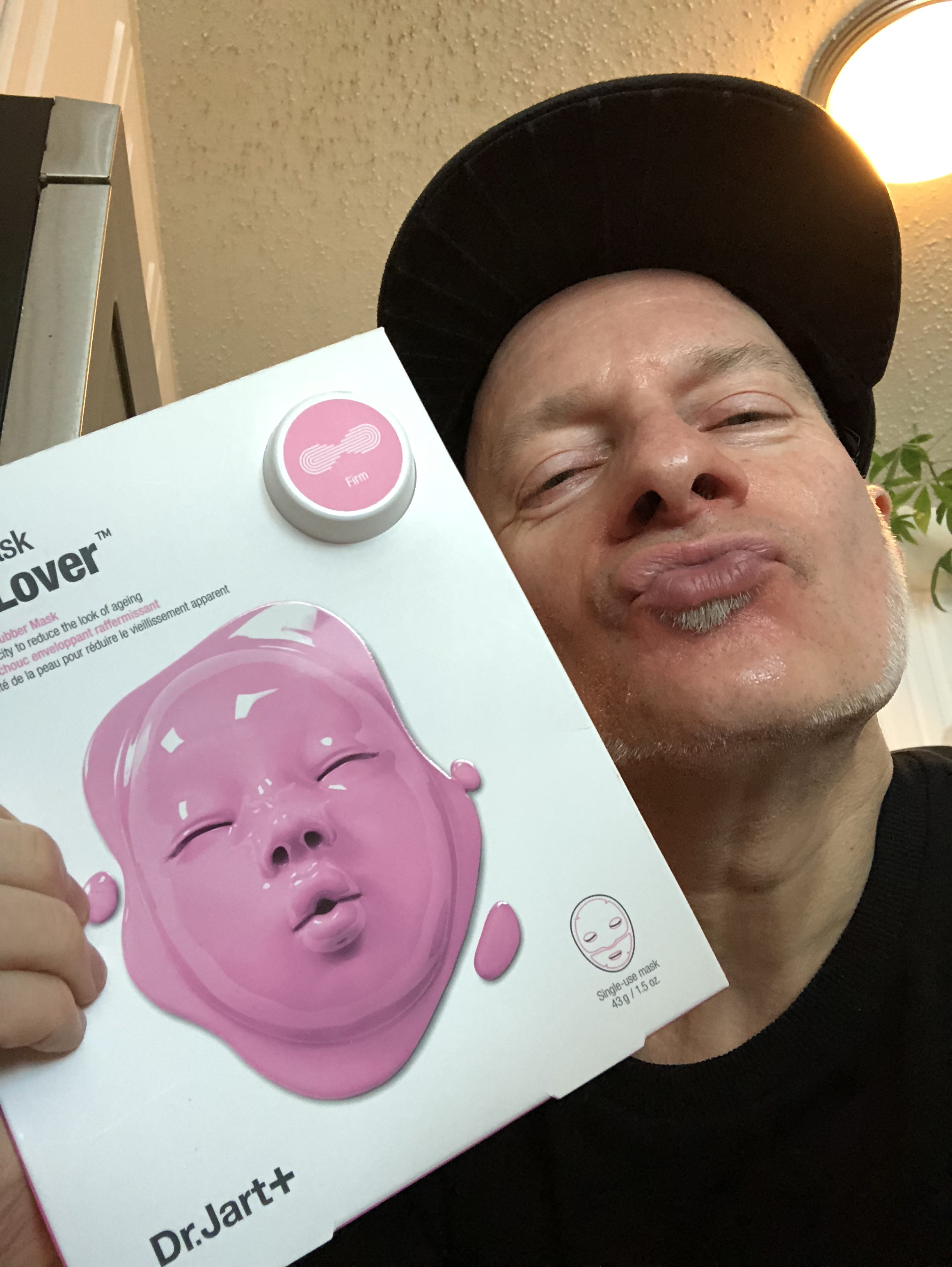 Don't be such a baby. The Dr. Jart Lover Rubber Masks are cool!