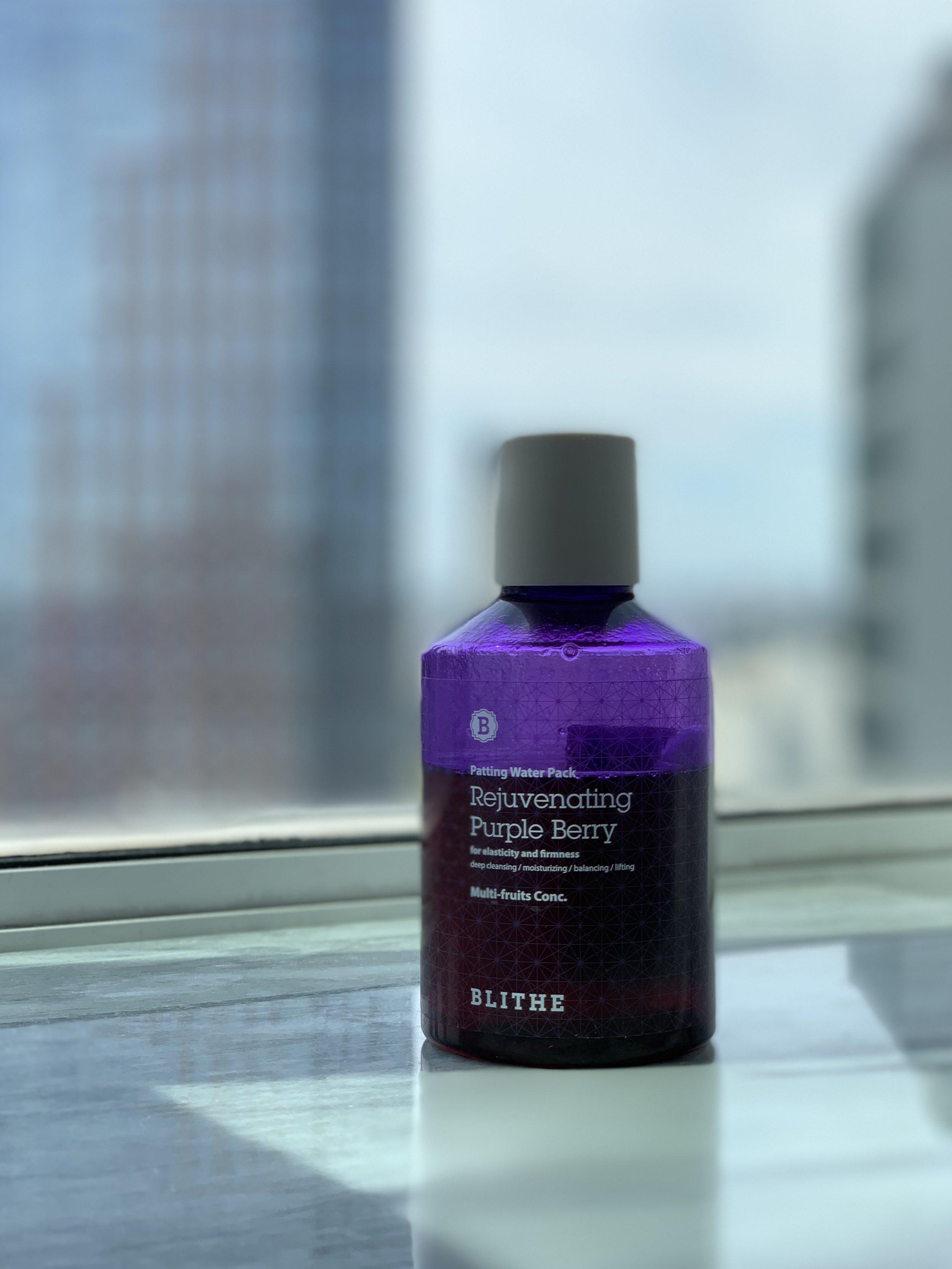 The Blithe Rejuvenating Purple Berry Splash Mask is the ultimate multi-tasker.