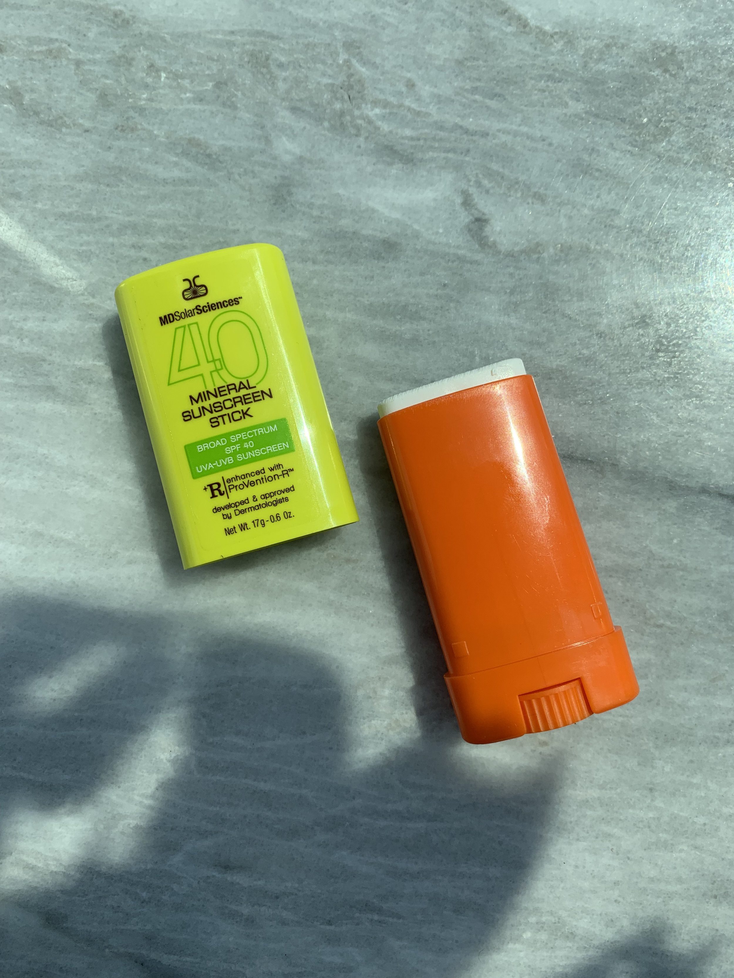 Mineral Sunscreen Stick SPF 40 fits right into your pocket!