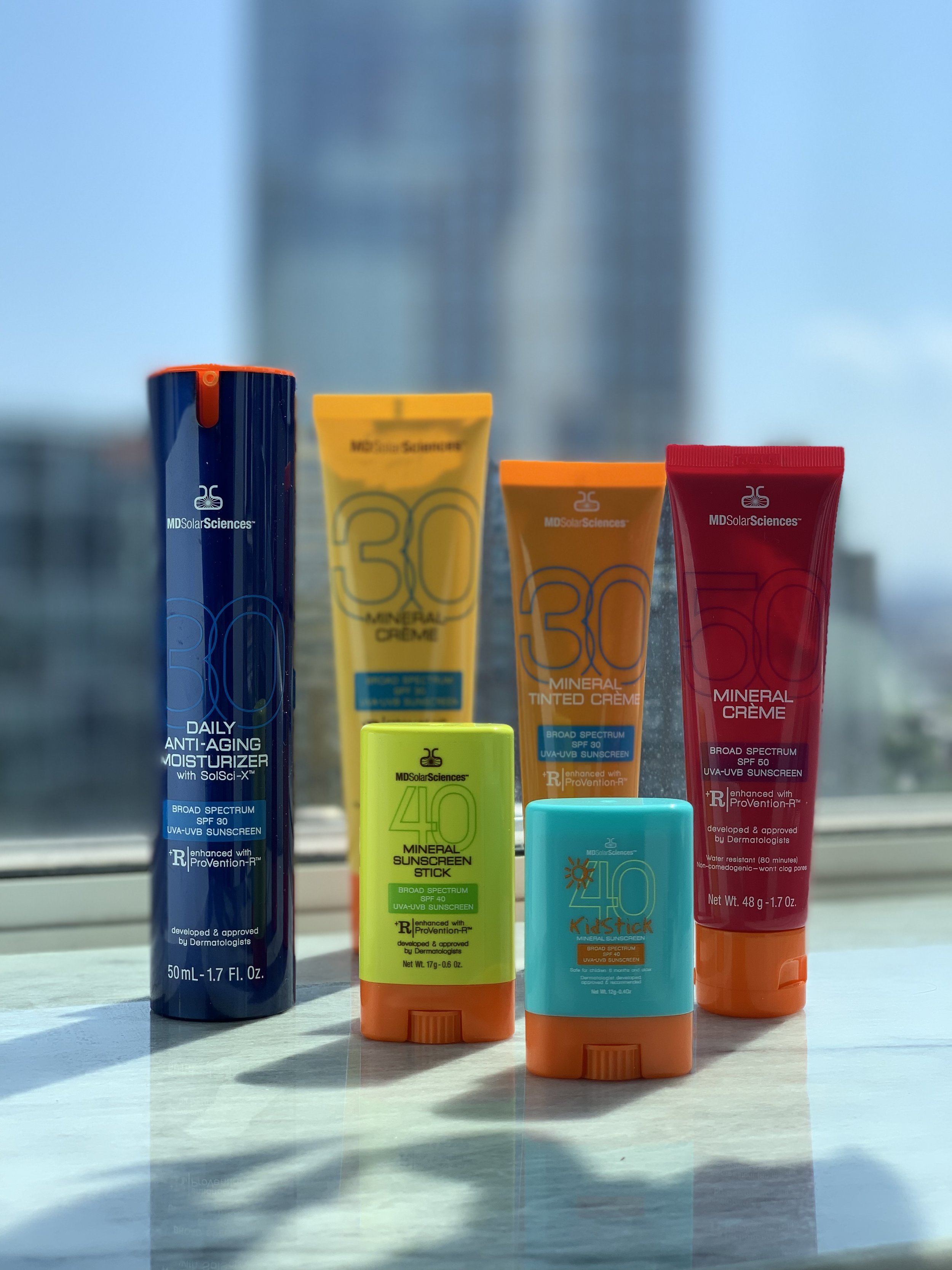 Use code  SKINCARMA20  to receive 20% off all MDSolarSciences sunscreen products!