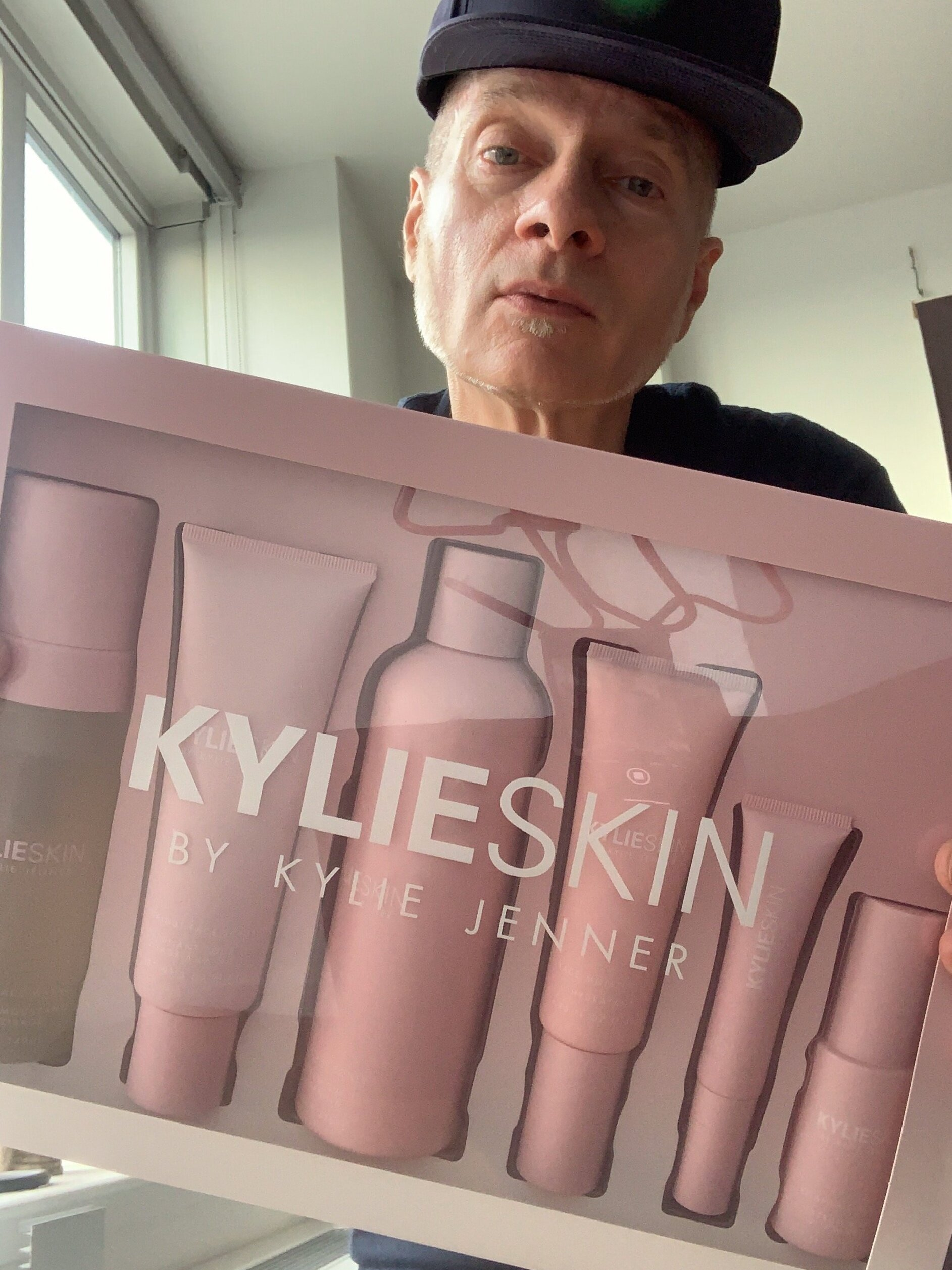 Look at this Kylie Skin product monstrosity that I just had to try for myself!