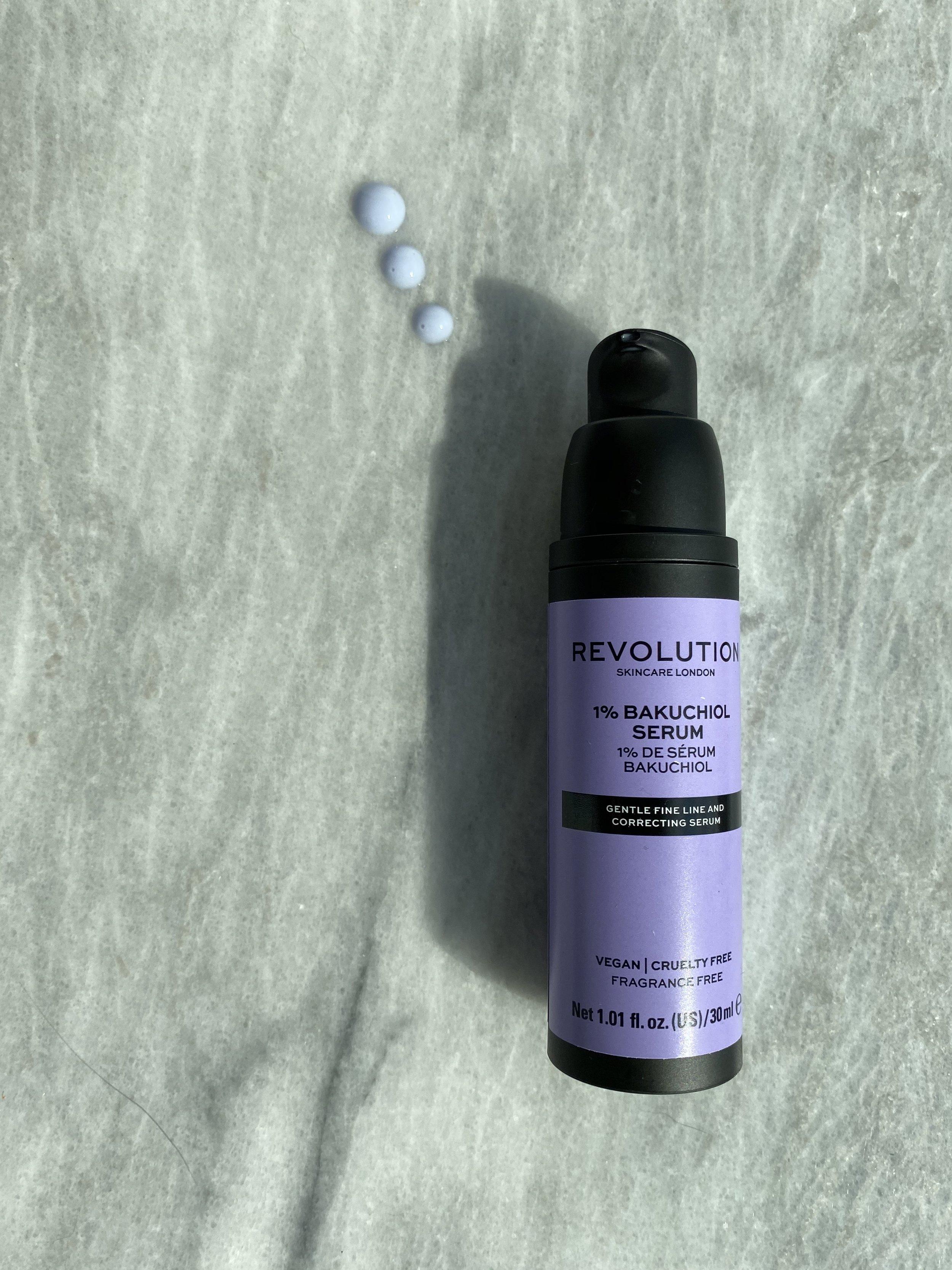 Revolution's 1% Bakuchiol Serum is just $13 for a 1 oz. airless pump