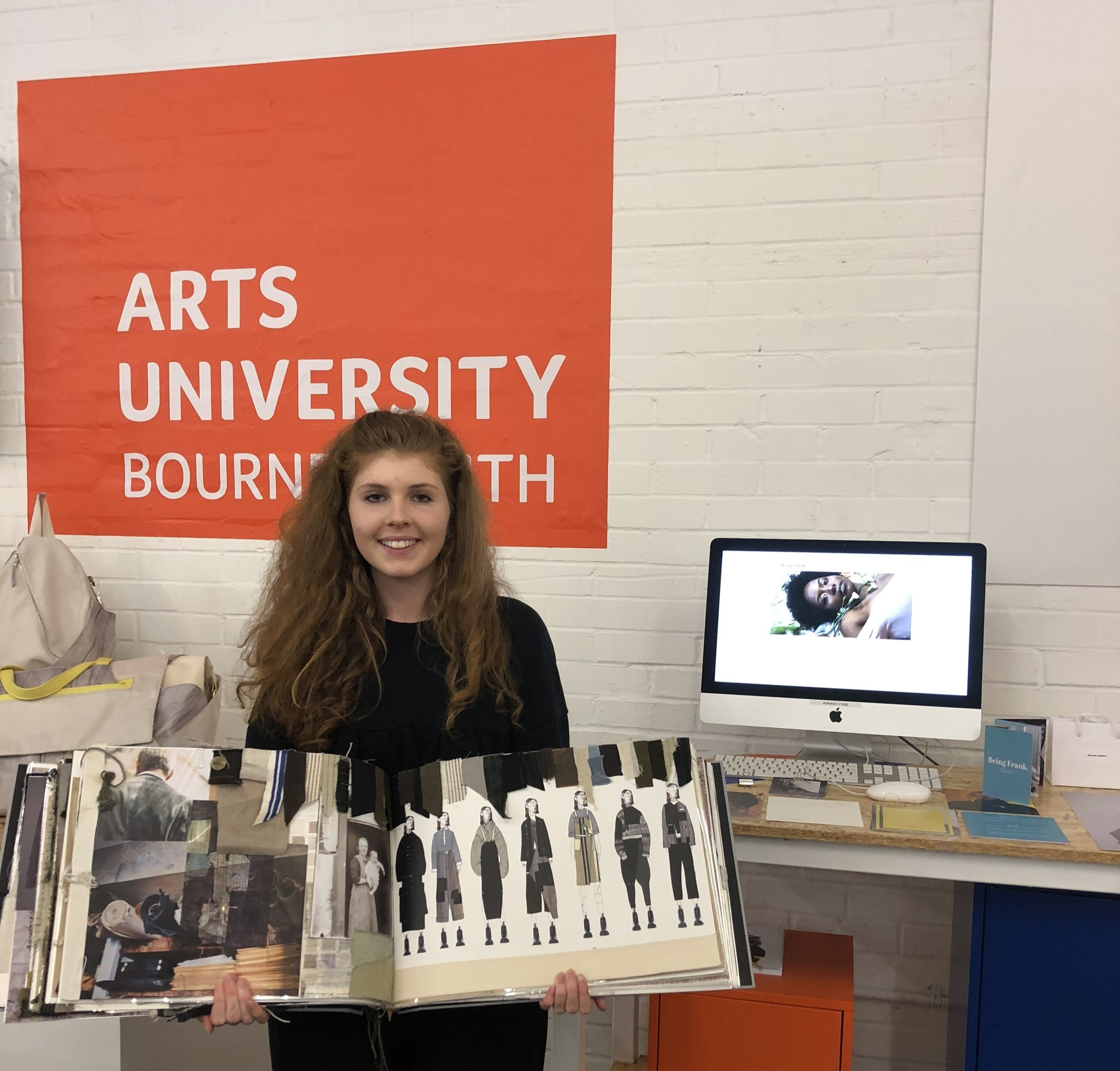 Rebecca Wilson. BA Fashion Graduate, Bournemouth University Talks to www.Texintel.com